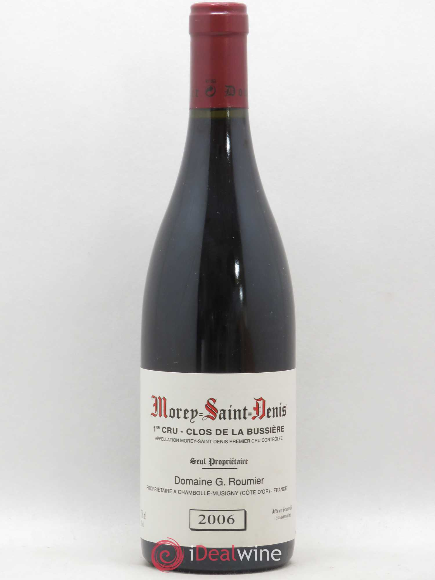 Morey Saint-Denis 1er Cru Clos de la Bussière Georges Roumier (Domaine) (no reserve) 2006 - Lot of 1 Bottle