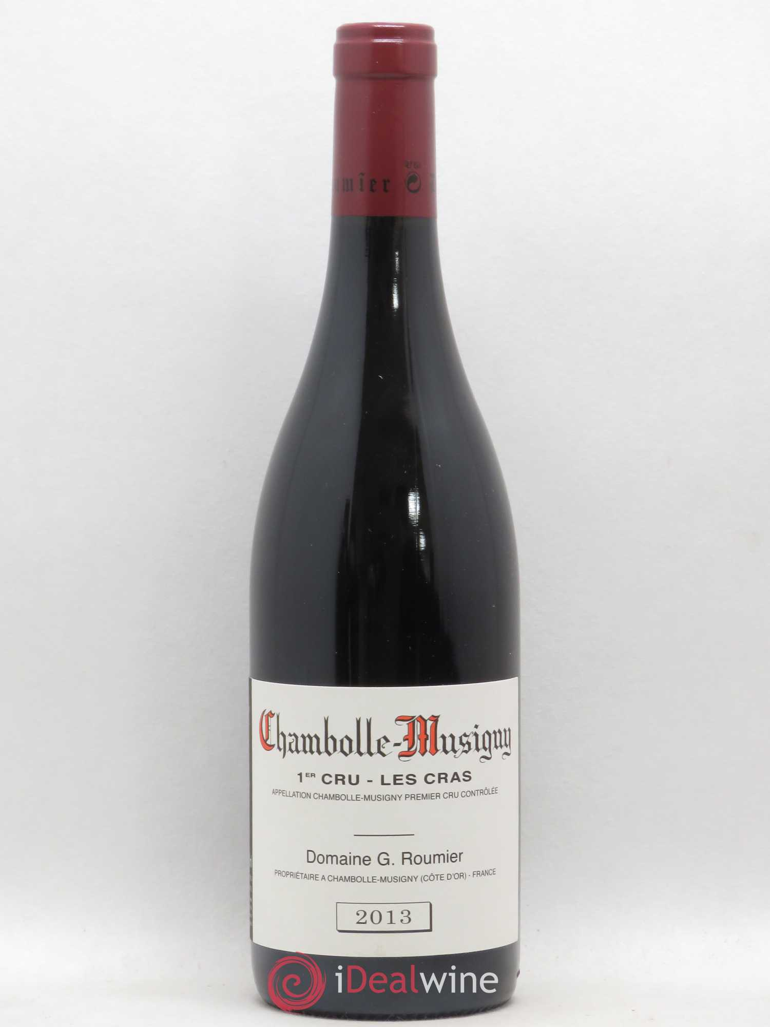 Chambolle-Musigny 1er Cru Les Cras Georges Roumier (Domaine)  2013 - Lot of 1 Bottle