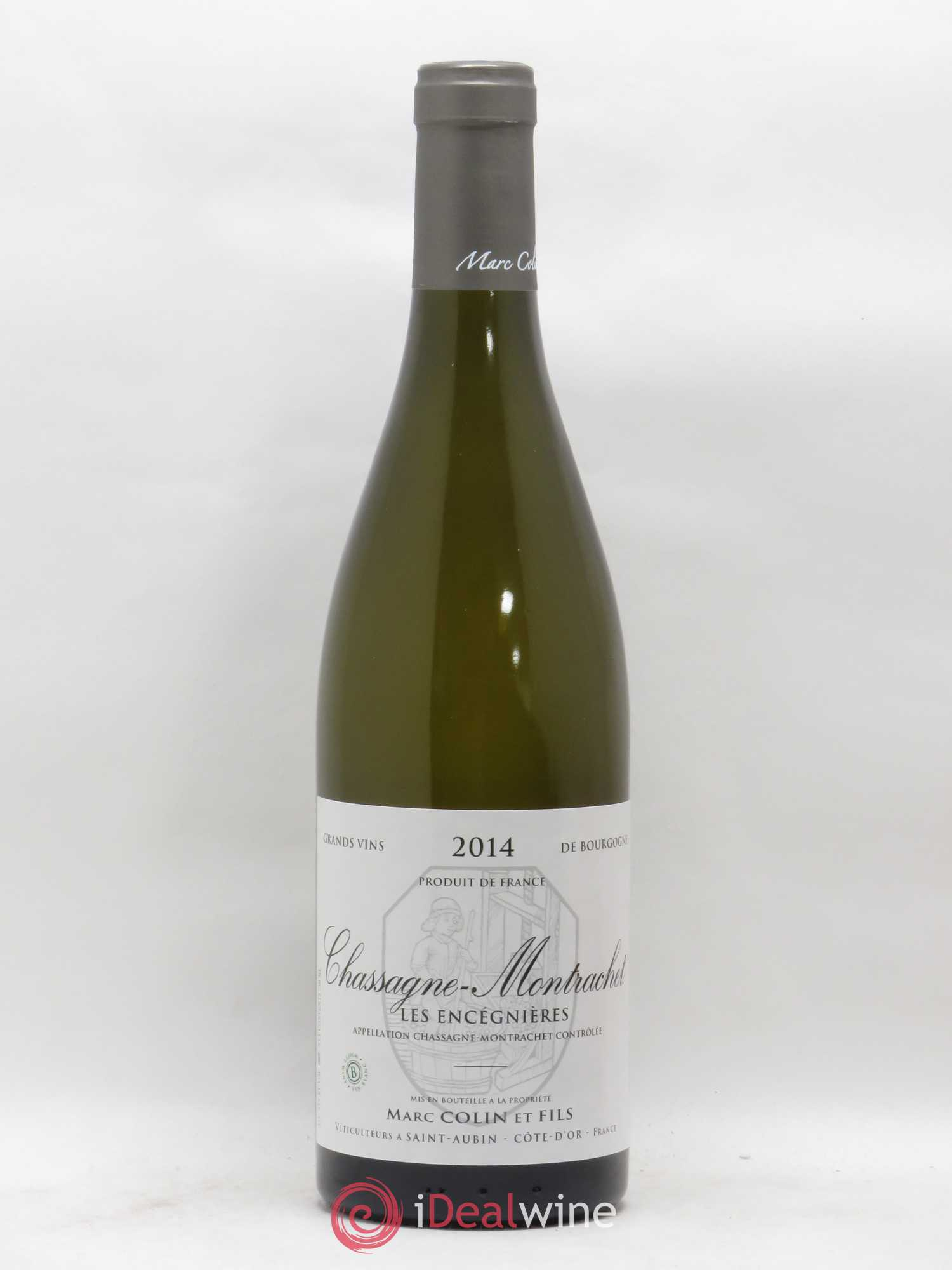 Chassagne-Montrachet Les Encegnieres Marc Colin et Fils (no reserve) 2014 - Lot of 1 Bottle