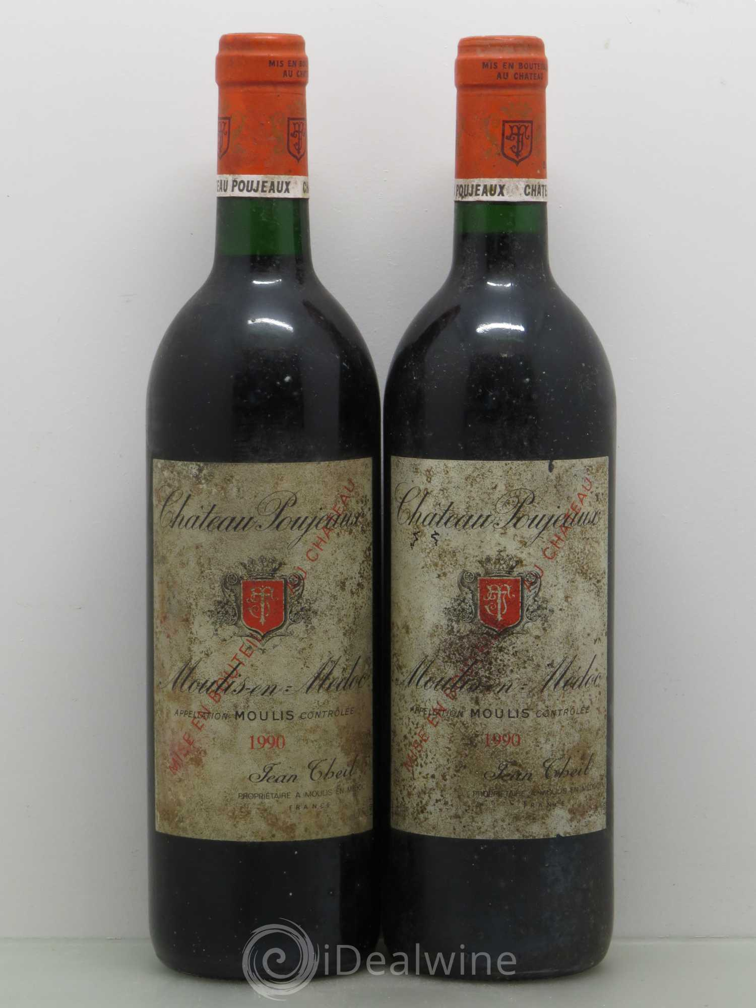Buy ch teau poujeaux 1990 lot 10144 for Buy chateaubriand