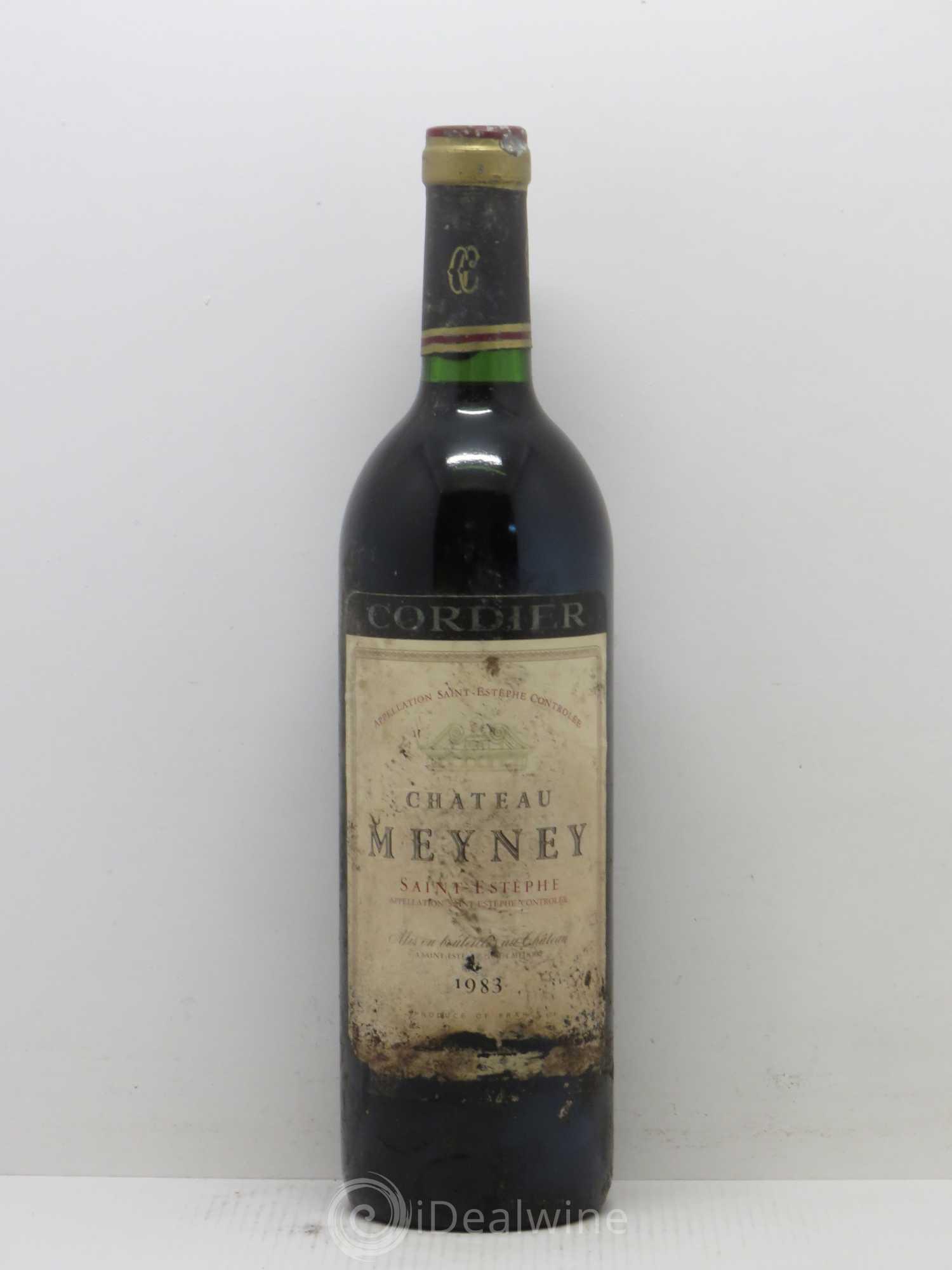 Acheter ch teau meyney cru bourgeois 1983 lot 9555 for Chateau meyney