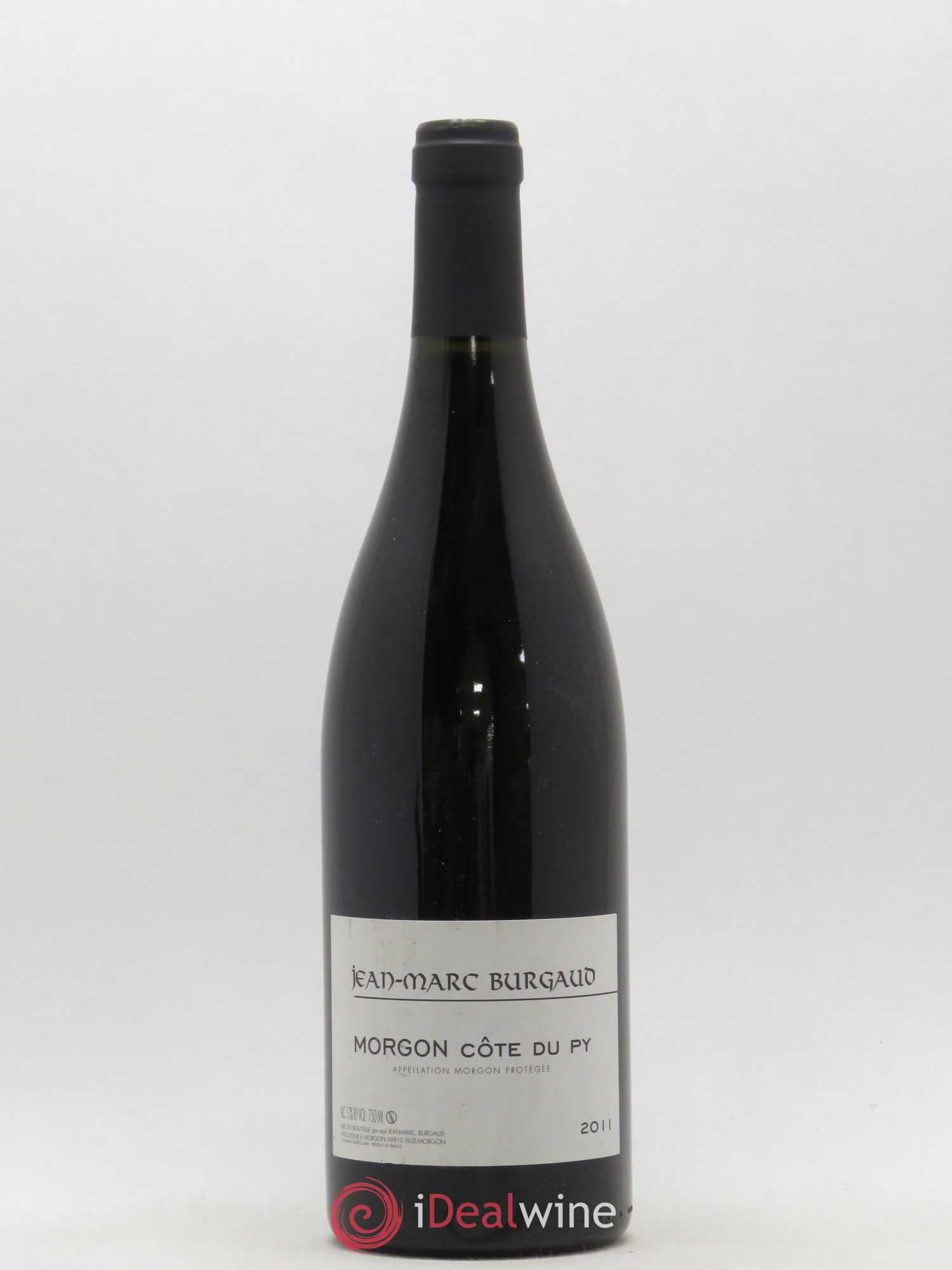 Morgon Côte du Py Jean-Marc Burgaud (Domaine)  2011 - Lot of 1 Bottle