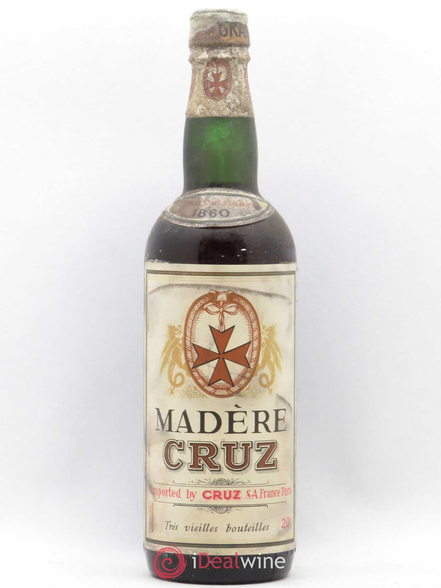 Madère Cruz 1860 - Lot of 1 Bottle