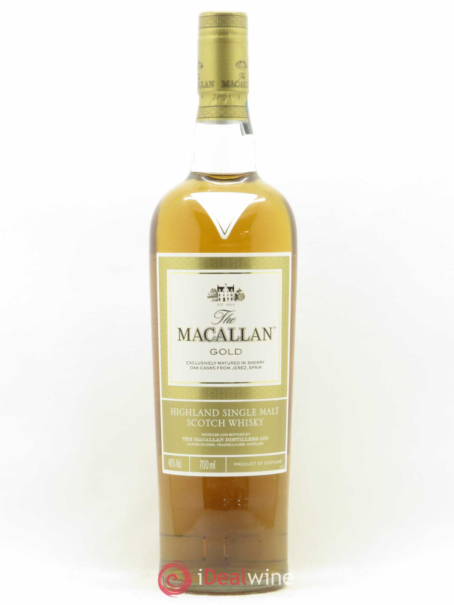 Whisky Macallan Gold Masters of Photography Ernie Button (no reserve)  - Lot of 1 Bottle