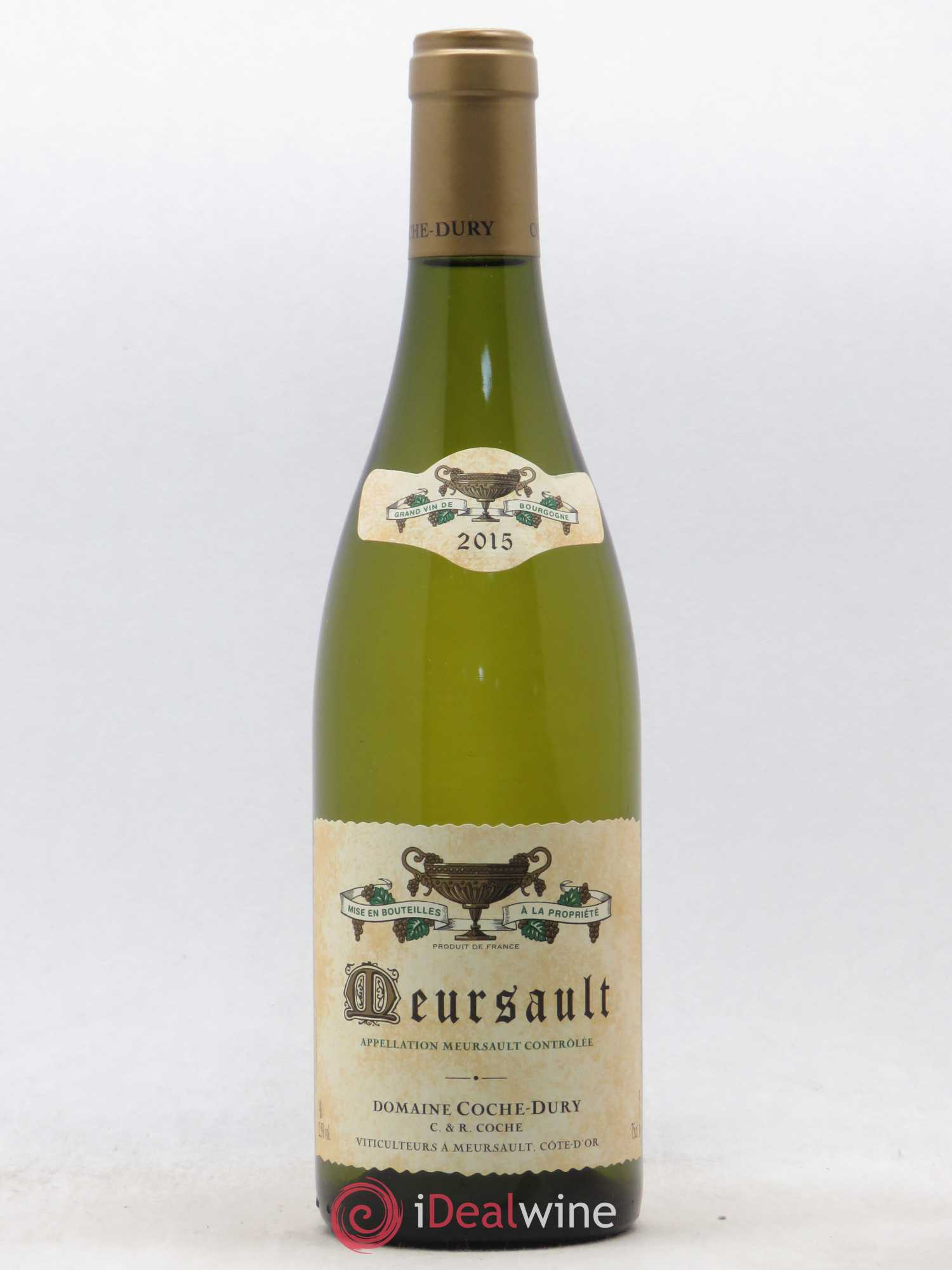 Meursault Coche Dury (Domaine)  2015 - Lot of 1 Bottle