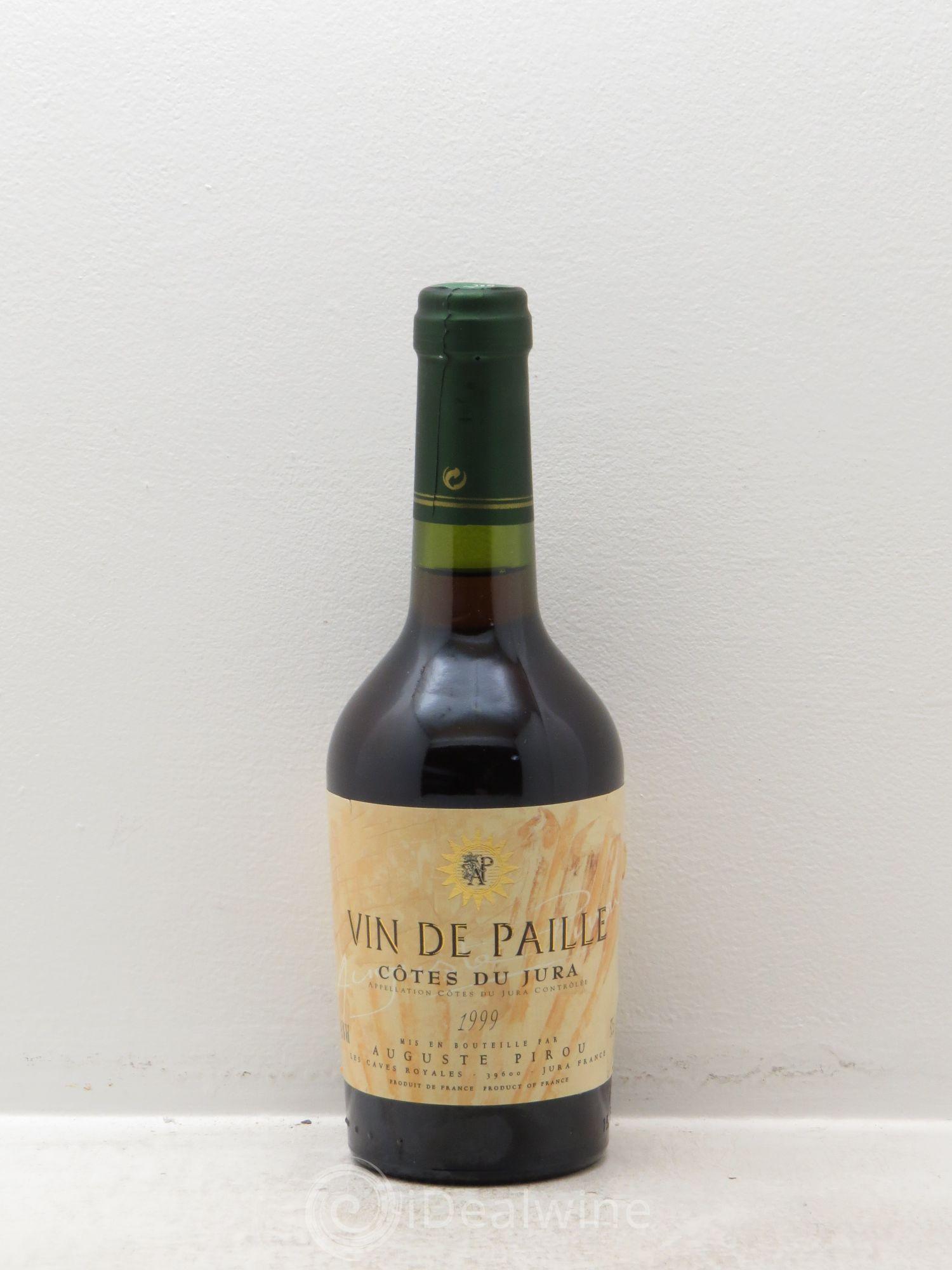 Acheter c tes du jura vin de paille auguste pirou 1999 for Auguste chabaud cote