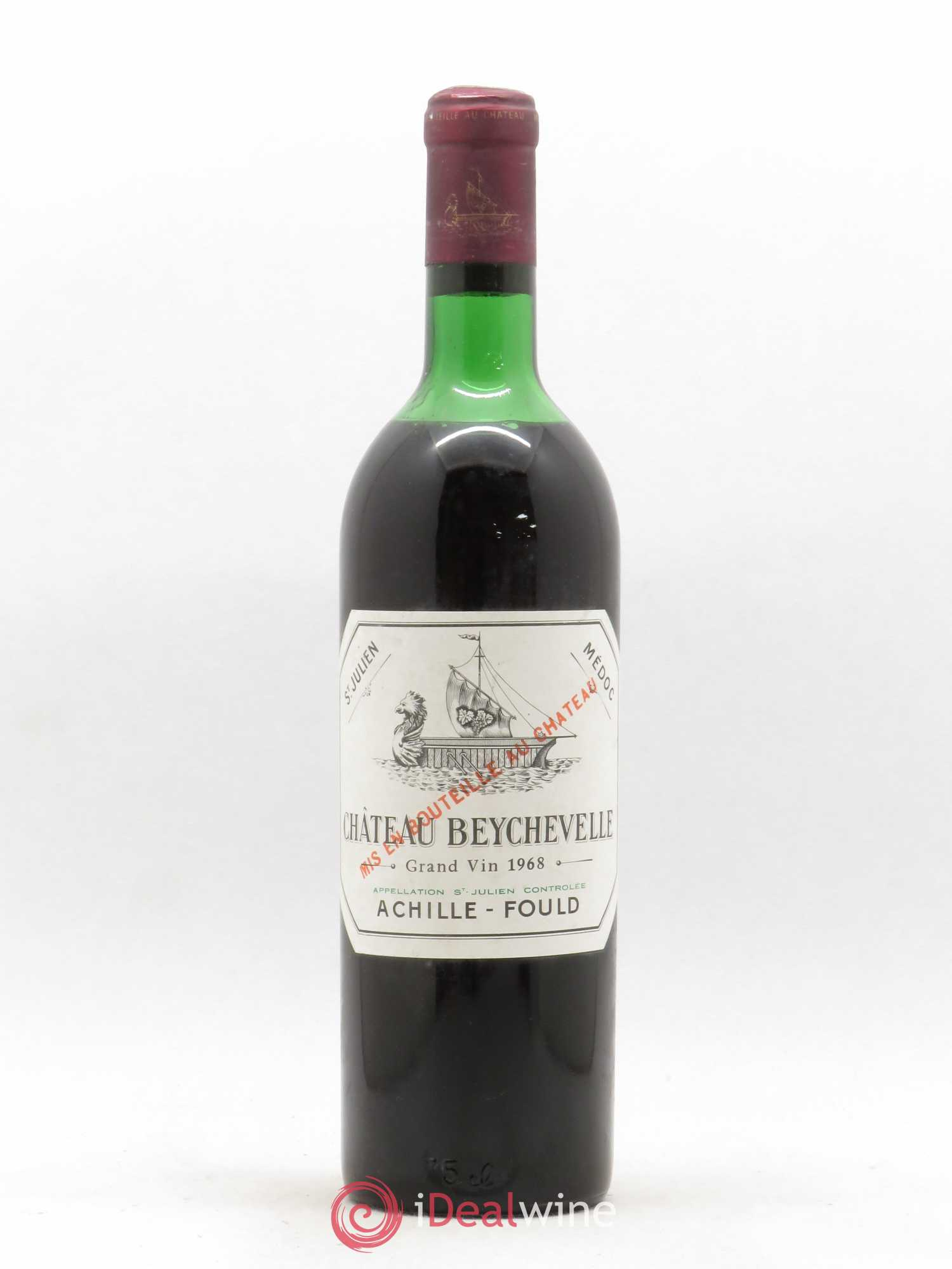 Château Beychevelle 4ème Grand Cru Classé  1968 - Lot of 1 Bottle