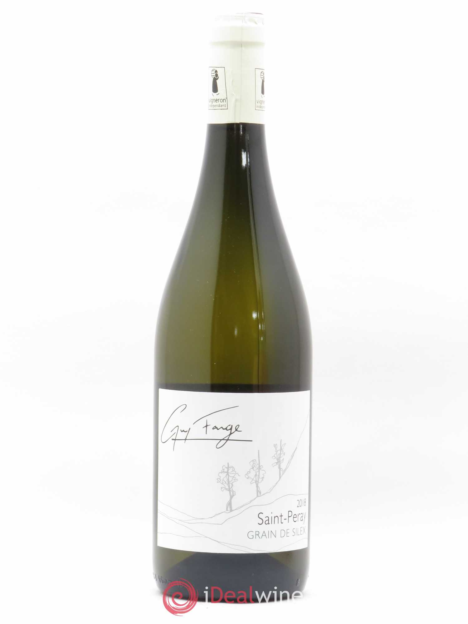 Saint-Péray Grain de Silex Domaine Guy Farge (no reserve) 2018 - Lot of 1 Bottle