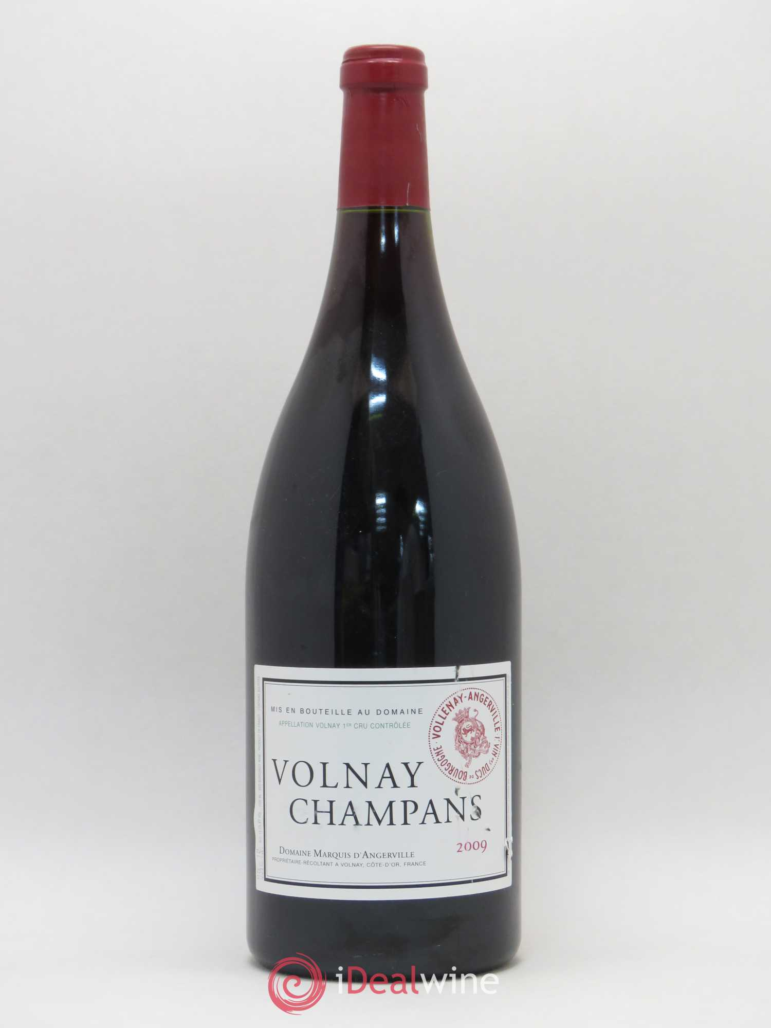 Volnay 1er Cru Champans Marquis d'Angerville (Domaine)  2009 - Lot of 1 Magnum