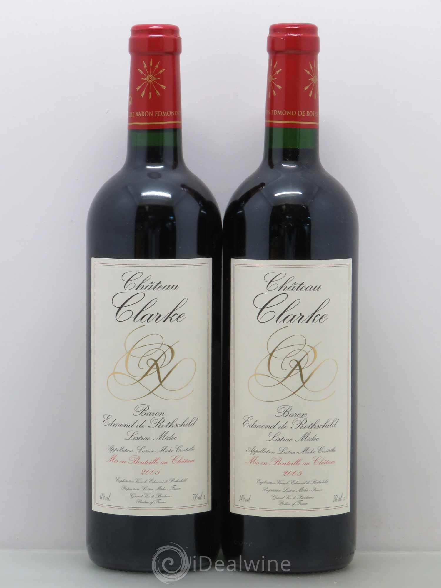 Acheter ch teau clarke cru bourgeois 2005 lot 12006 for Chateau clarke