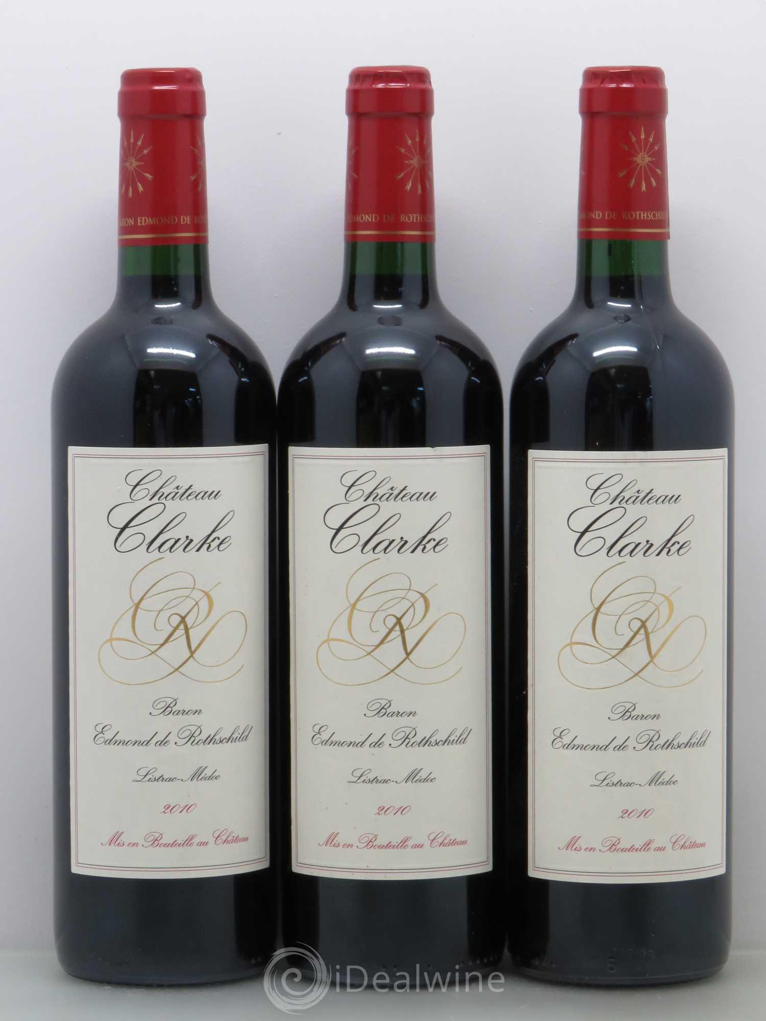 Buy ch teau clarke cru bourgeois 2010 lot 12511 for Chateau clarke