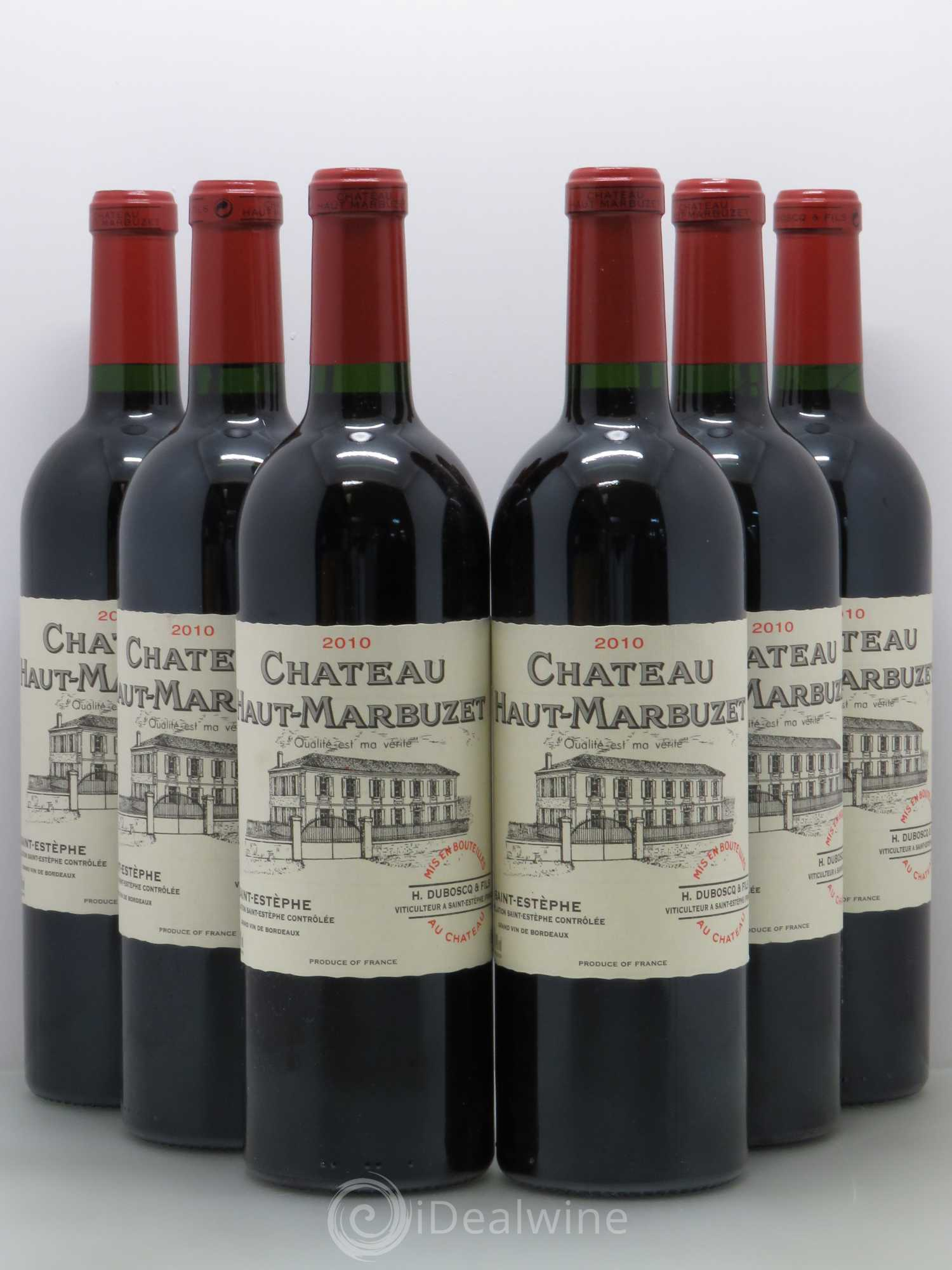 Buy ch teau haut marbuzet 2010 lot 12535 for Buy chateaubriand