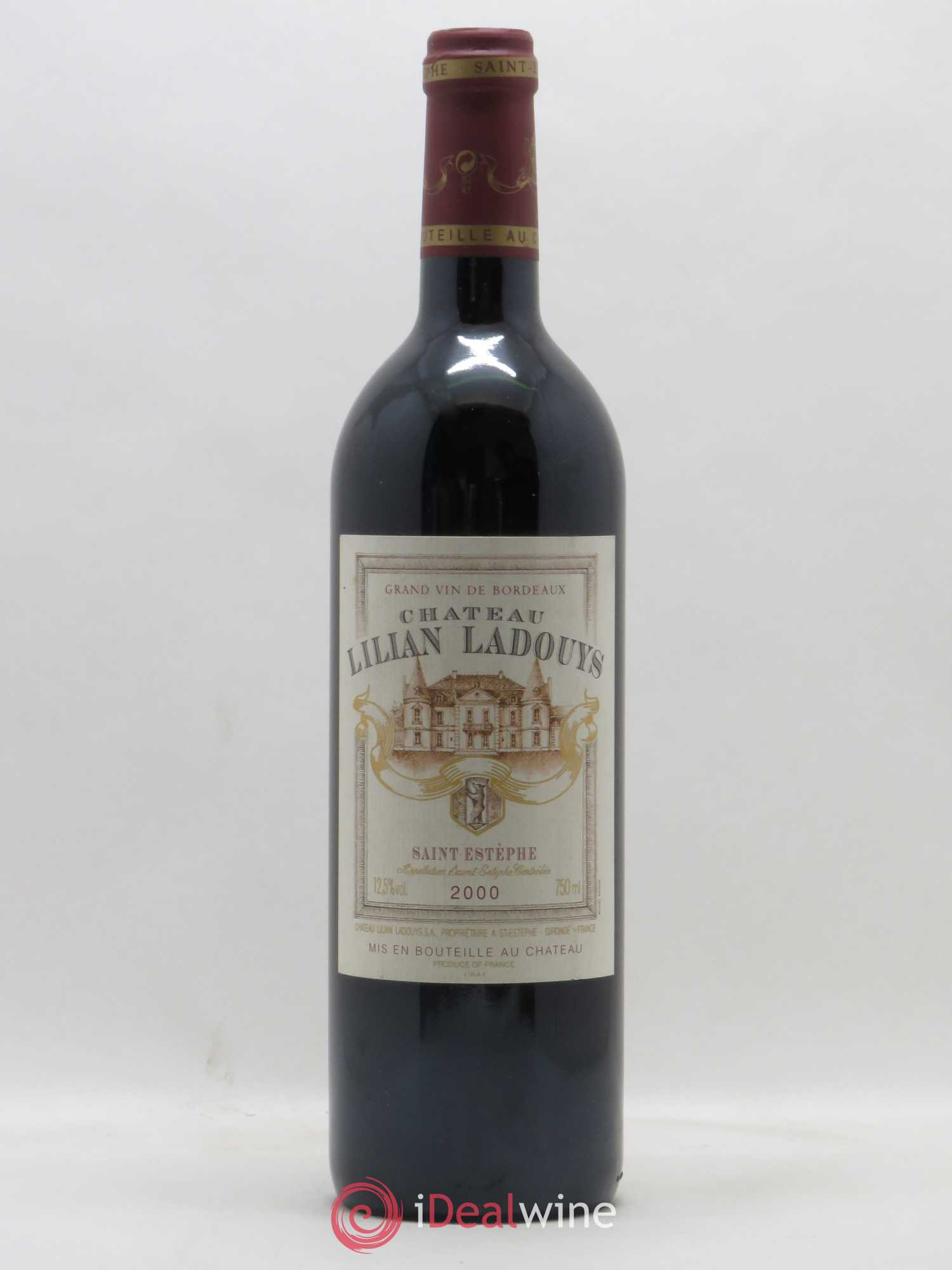 Château Lilian Ladouys Cru Bourgeois  2000 - Lot of 1 Bottle
