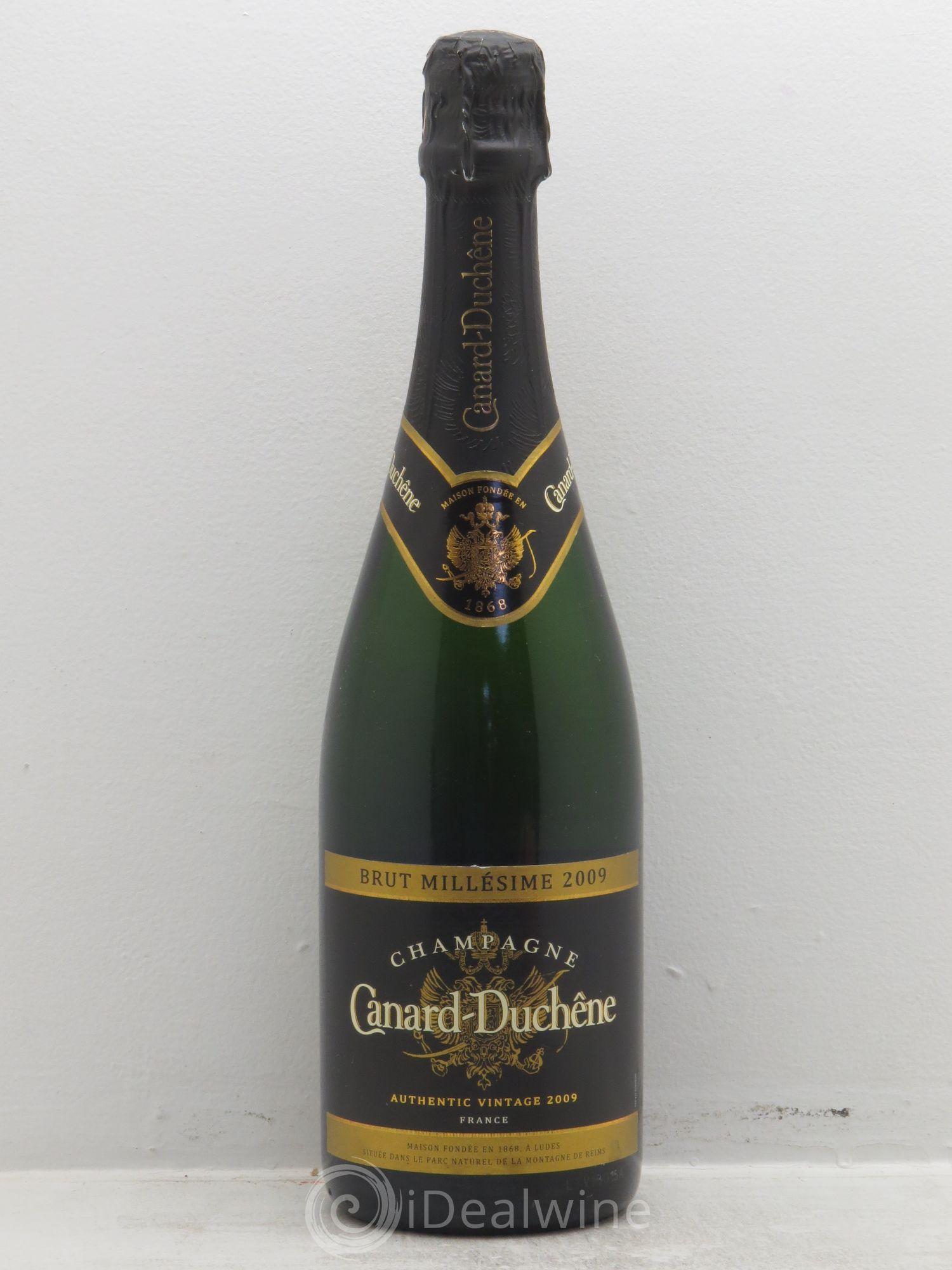 acheter brut champagne canard duch ne sans prix de r serve 2009 lot 1546. Black Bedroom Furniture Sets. Home Design Ideas