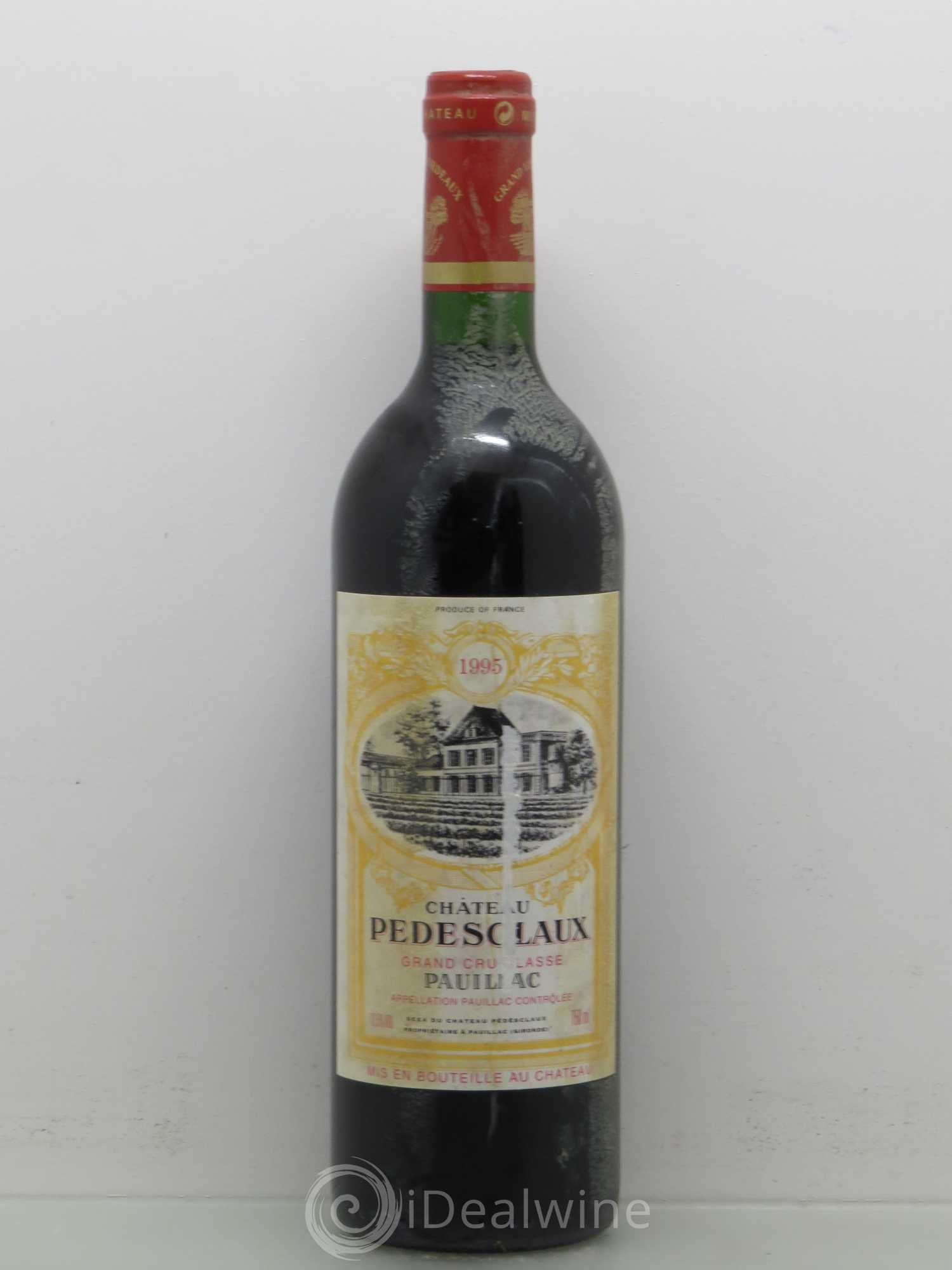 Château Pedesclaux 5ème Grand Cru Classé (no reserve) 1995 - Lot of 1 Bottle 7bab2bdbedf
