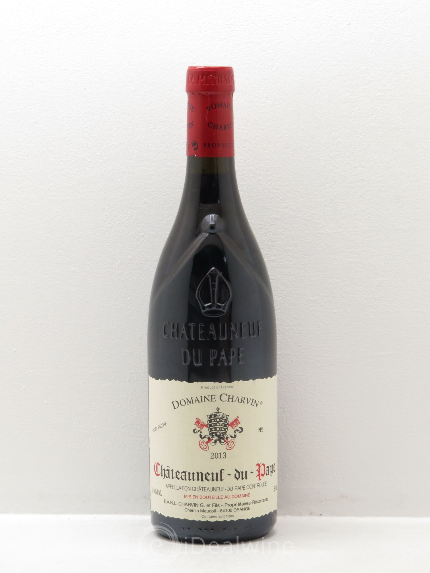 Châteauneuf-du-Pape Famille Charvin  2013 - Lot of 1 Bottle