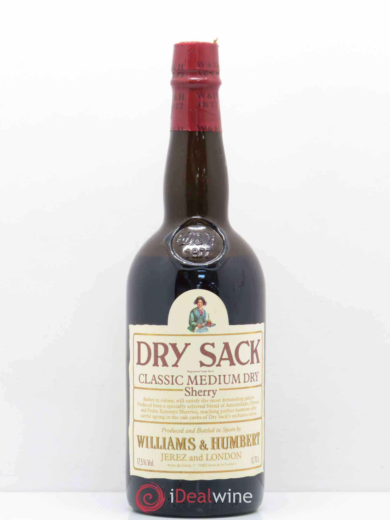 Buy Jerez Xerez Sherry Classic Medium Dry Dry Sack Williams And Humbert No Reserve Lot 153