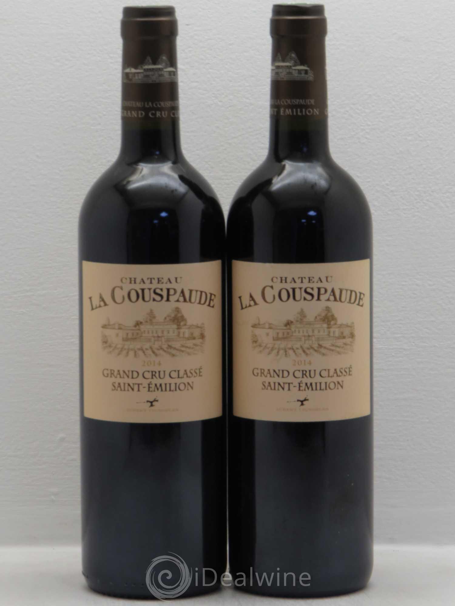 Acheter Château la Couspaude Grand Cru Classé 2014 (lot: 7518)