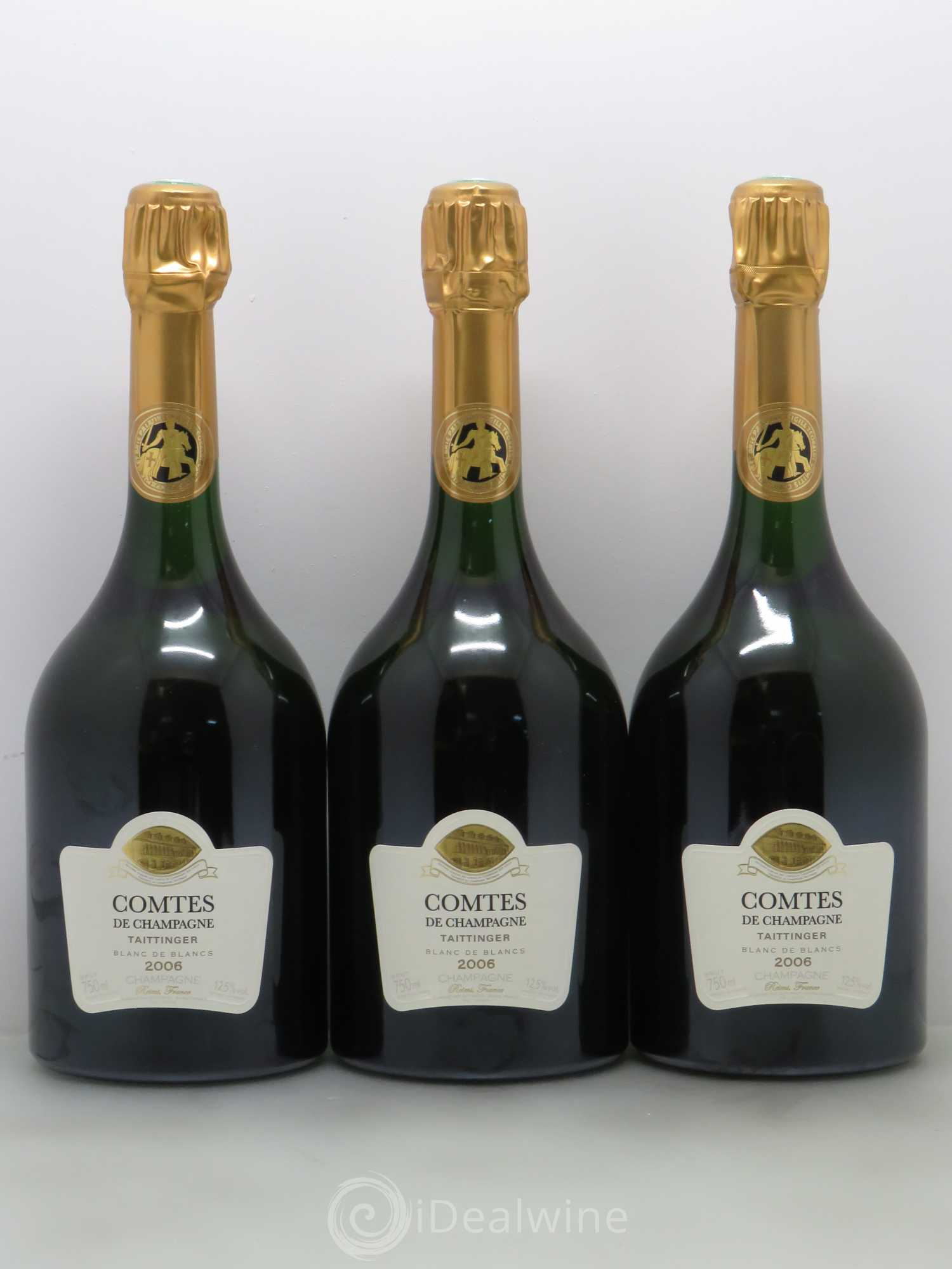 acheter comtes de champagne champagne taittinger 2006 lot 2070. Black Bedroom Furniture Sets. Home Design Ideas