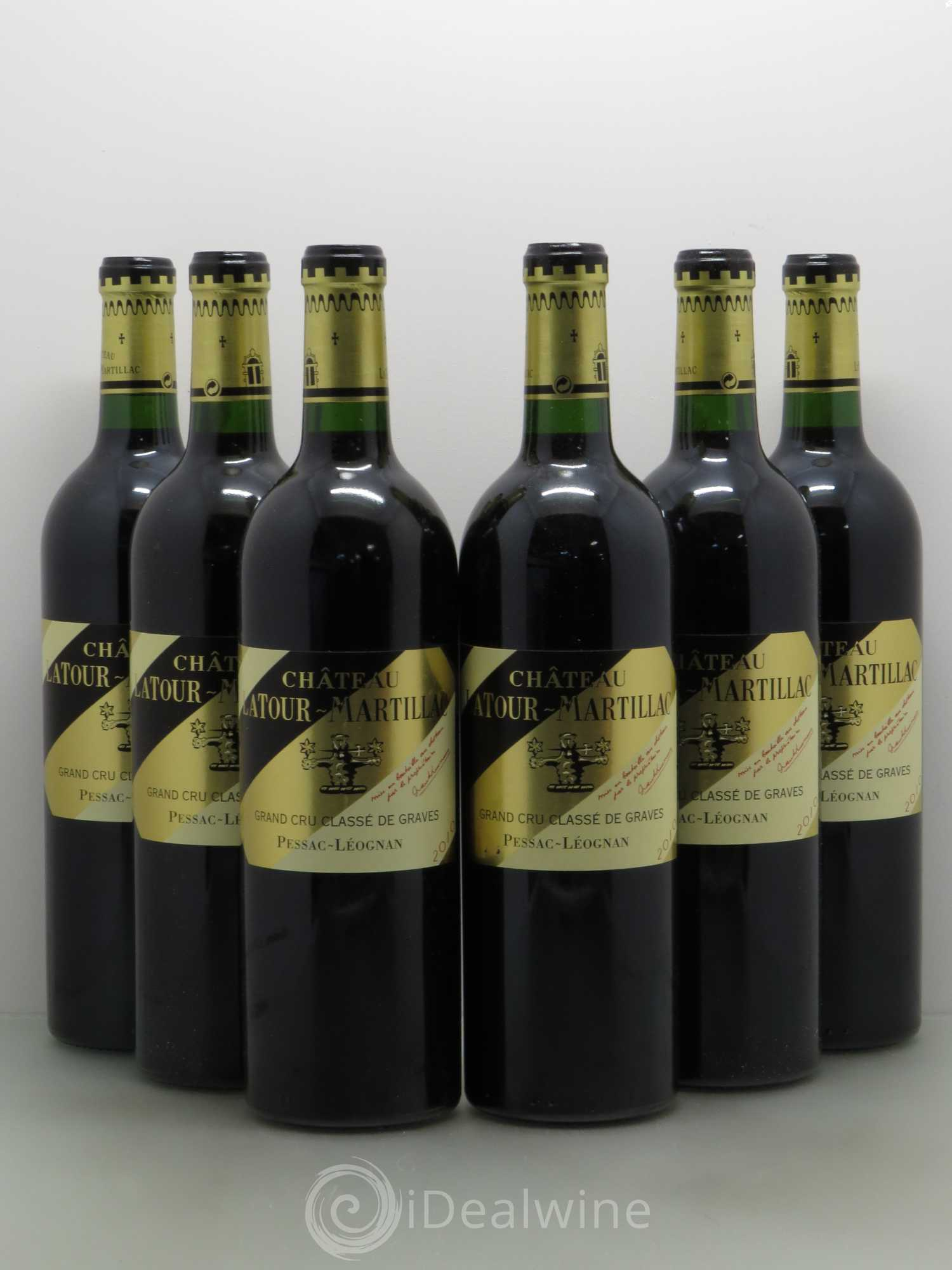 acheter ch teau latour martillac cru class de graves 2010 lot 12544. Black Bedroom Furniture Sets. Home Design Ideas