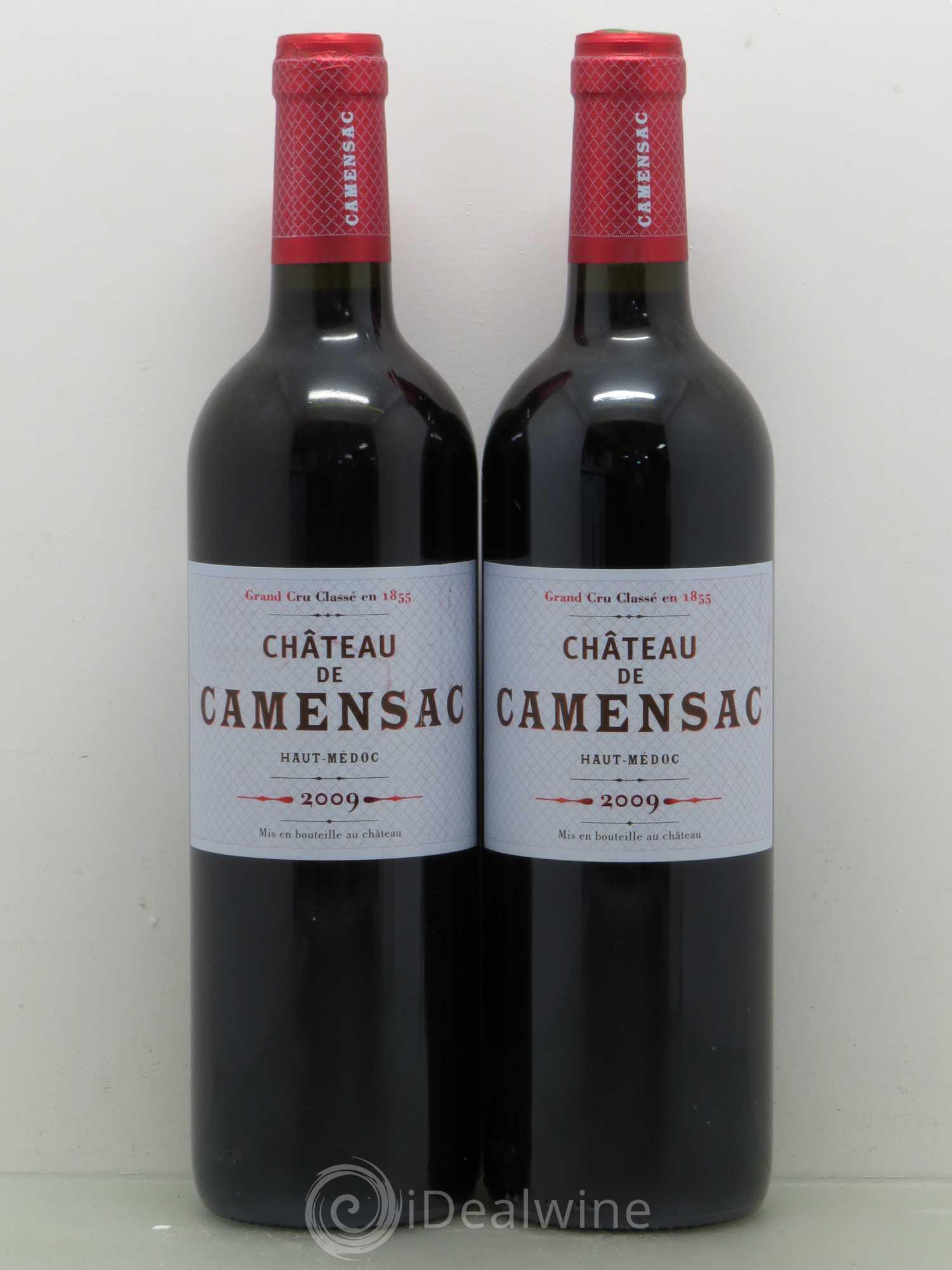 Buy ch teau camensac 5 me grand cru class 2009 lot 12507 for Buy chateaubriand