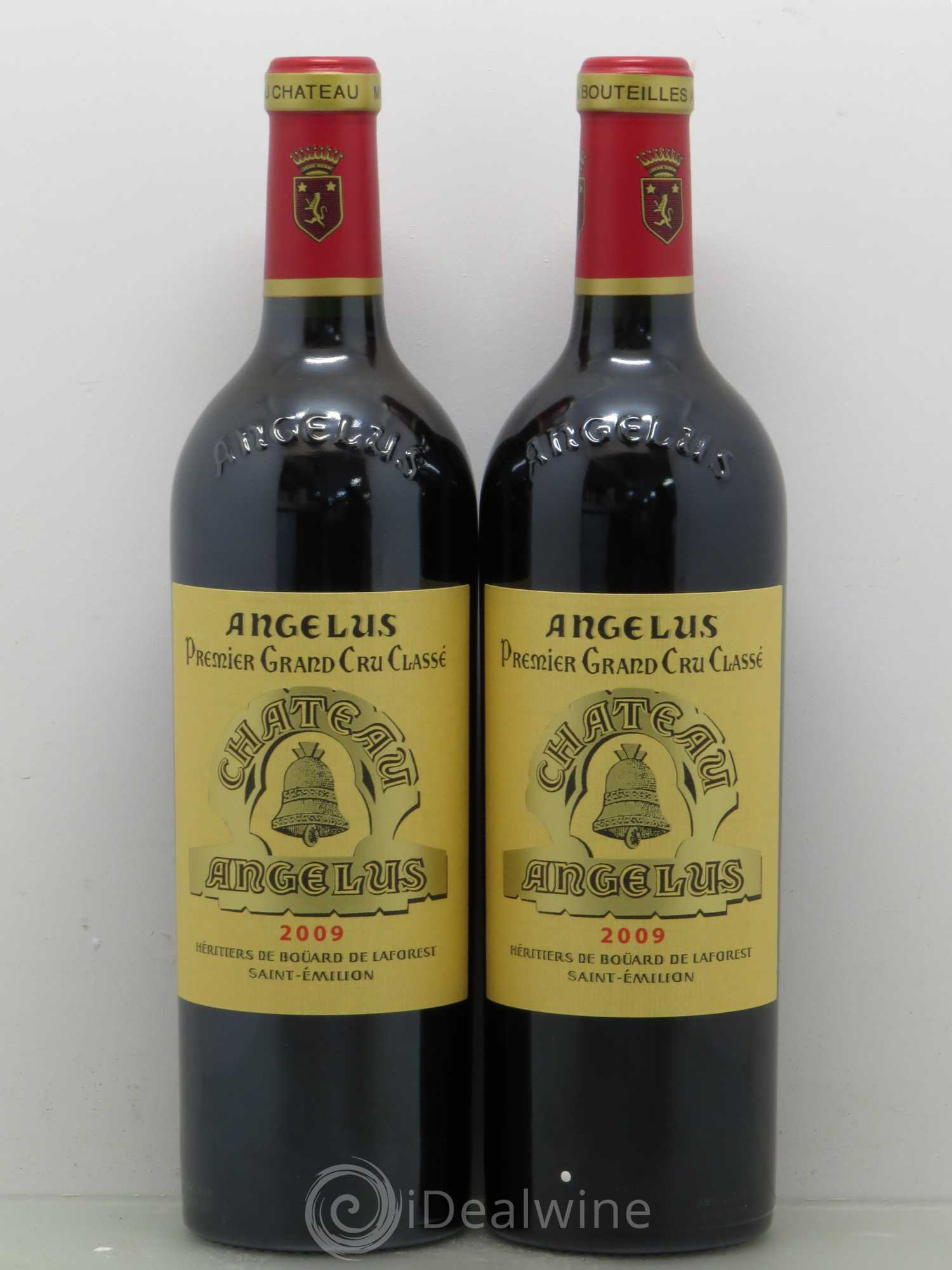 Buy ch teau ang lus 1er grand cru class a 2009 lot 12500 for Chateau angelus