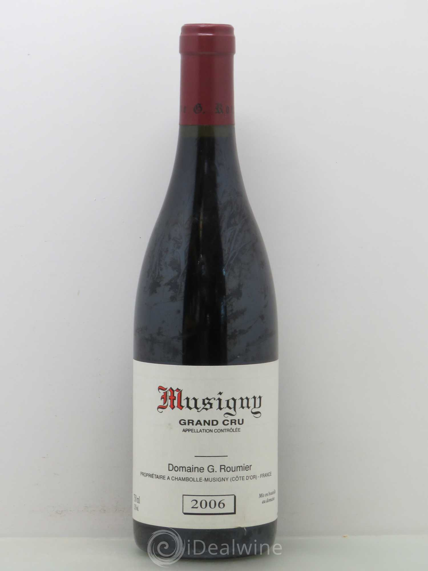 Musigny Grand Cru Georges Roumier (Domaine)  2006 - Lot of 1 Bottle