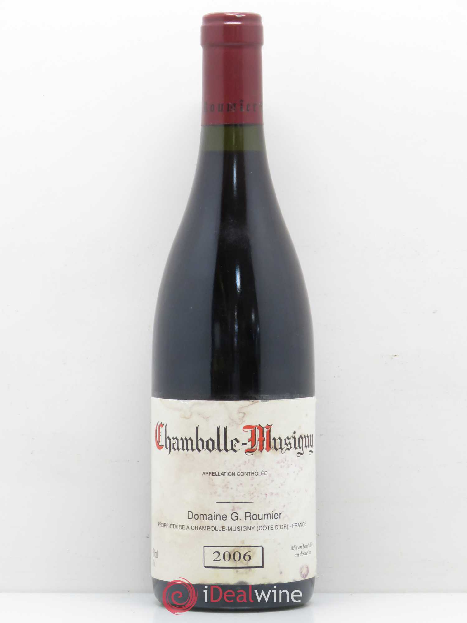 Chambolle-Musigny Georges Roumier (Domaine)  2006 - Lot de 1 Bouteille