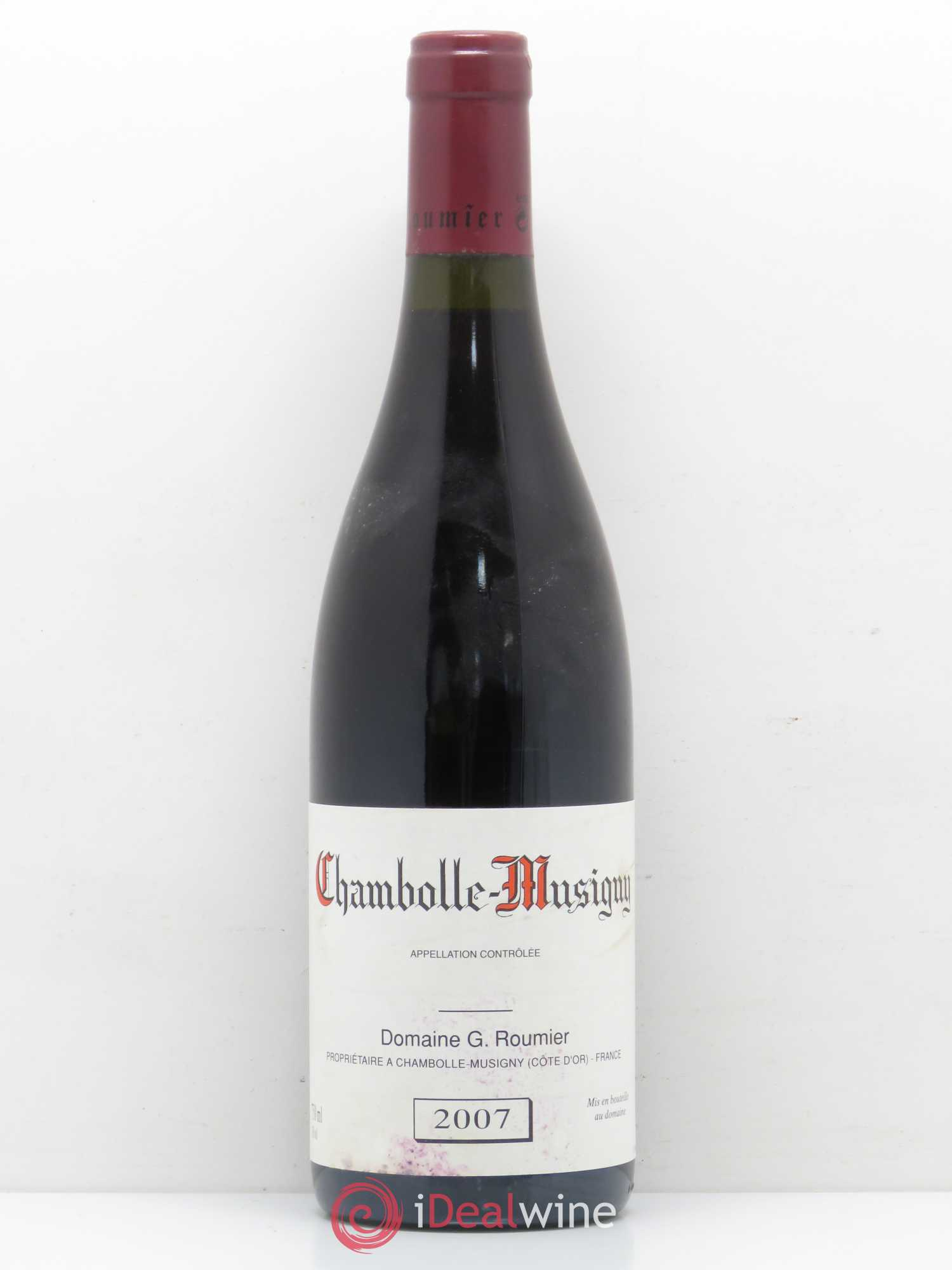 Chambolle-Musigny Georges Roumier (Domaine)  2007 - Lot de 1 Bouteille