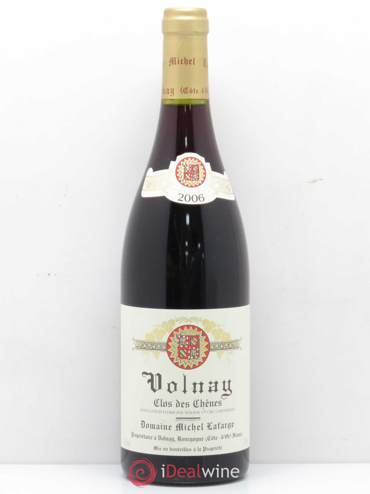 Buy Volnay 1er Cru Clos Des Chênes Lafarge Domaine 2006 Lot 4242