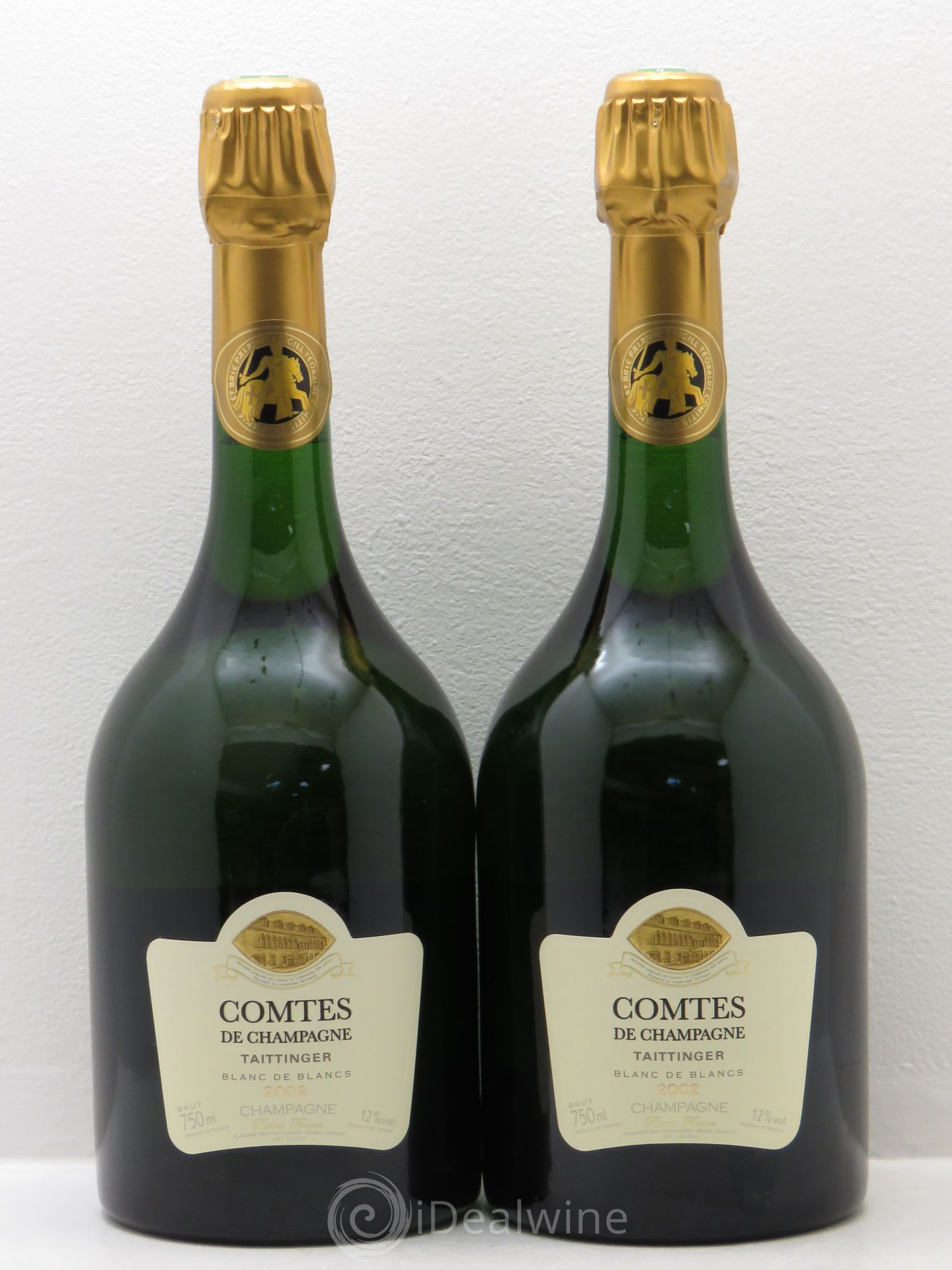 acheter comtes de champagne champagne taittinger 2002 lot 1546. Black Bedroom Furniture Sets. Home Design Ideas