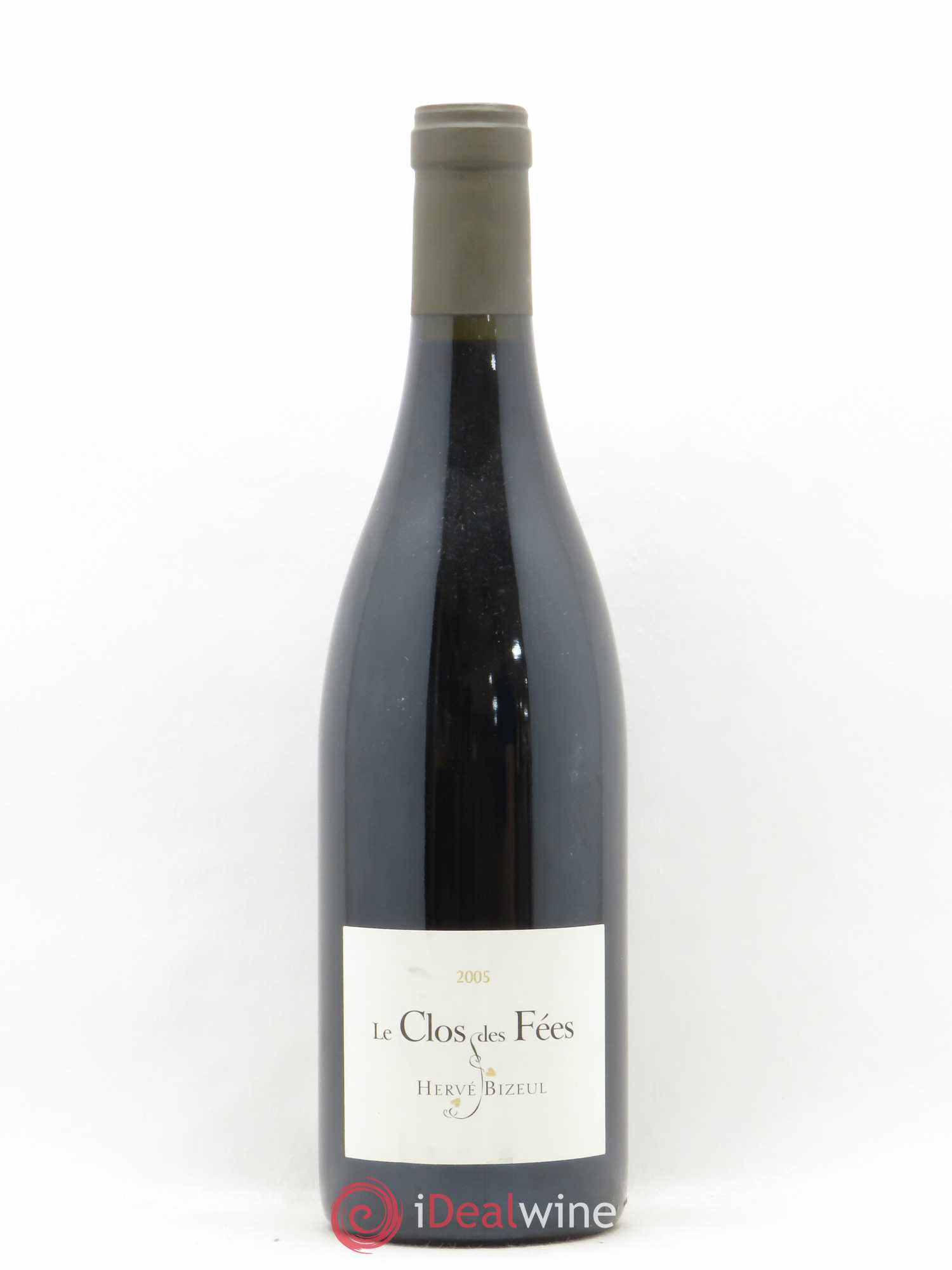 Côtes du Roussillon Clos des Fées Hervé Bizeul  2005 - Lot of 1 Bottle