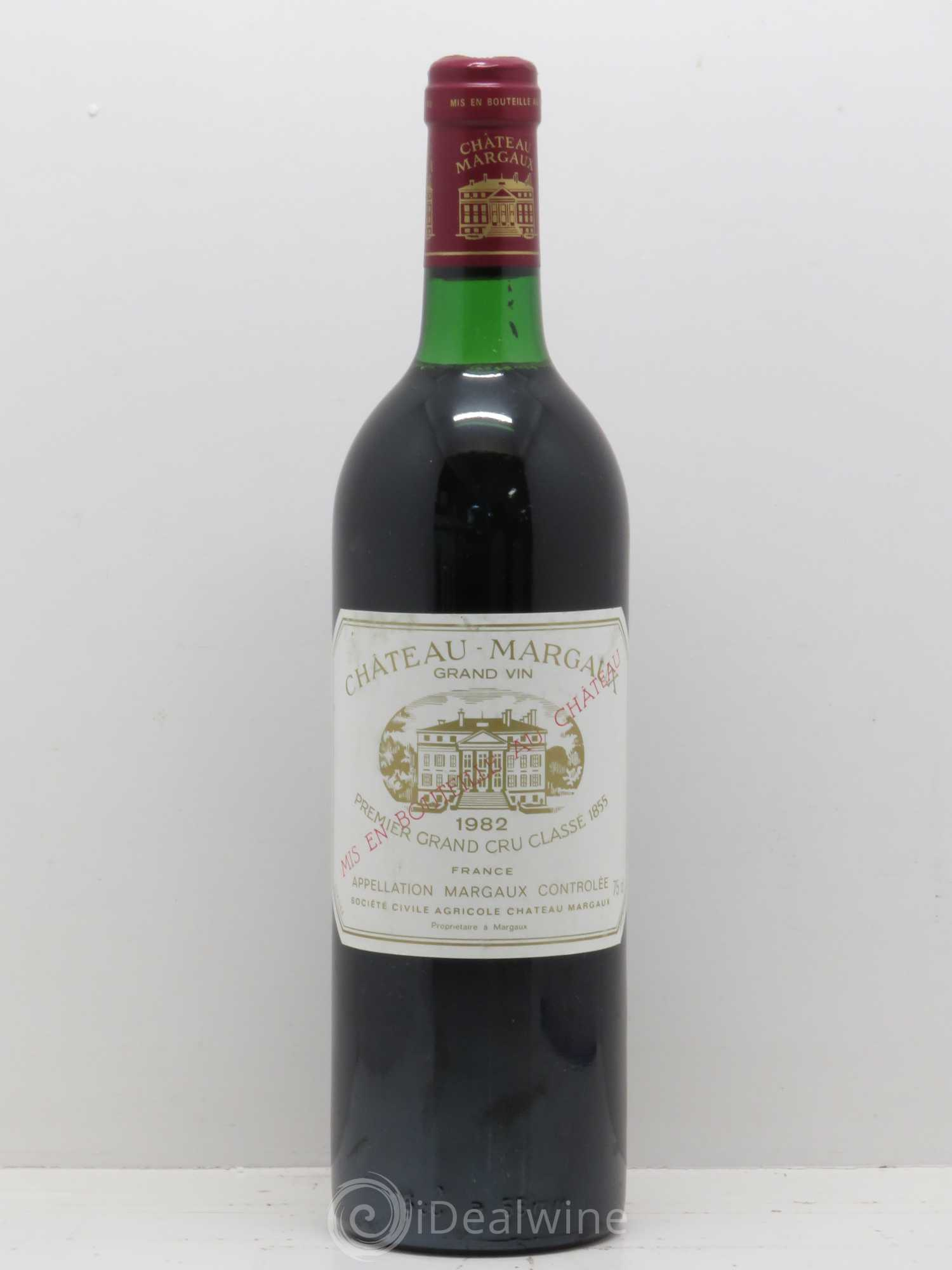 Buy ch teau margaux 1er grand cru class 1982 lot 10074 for Chateau margaux