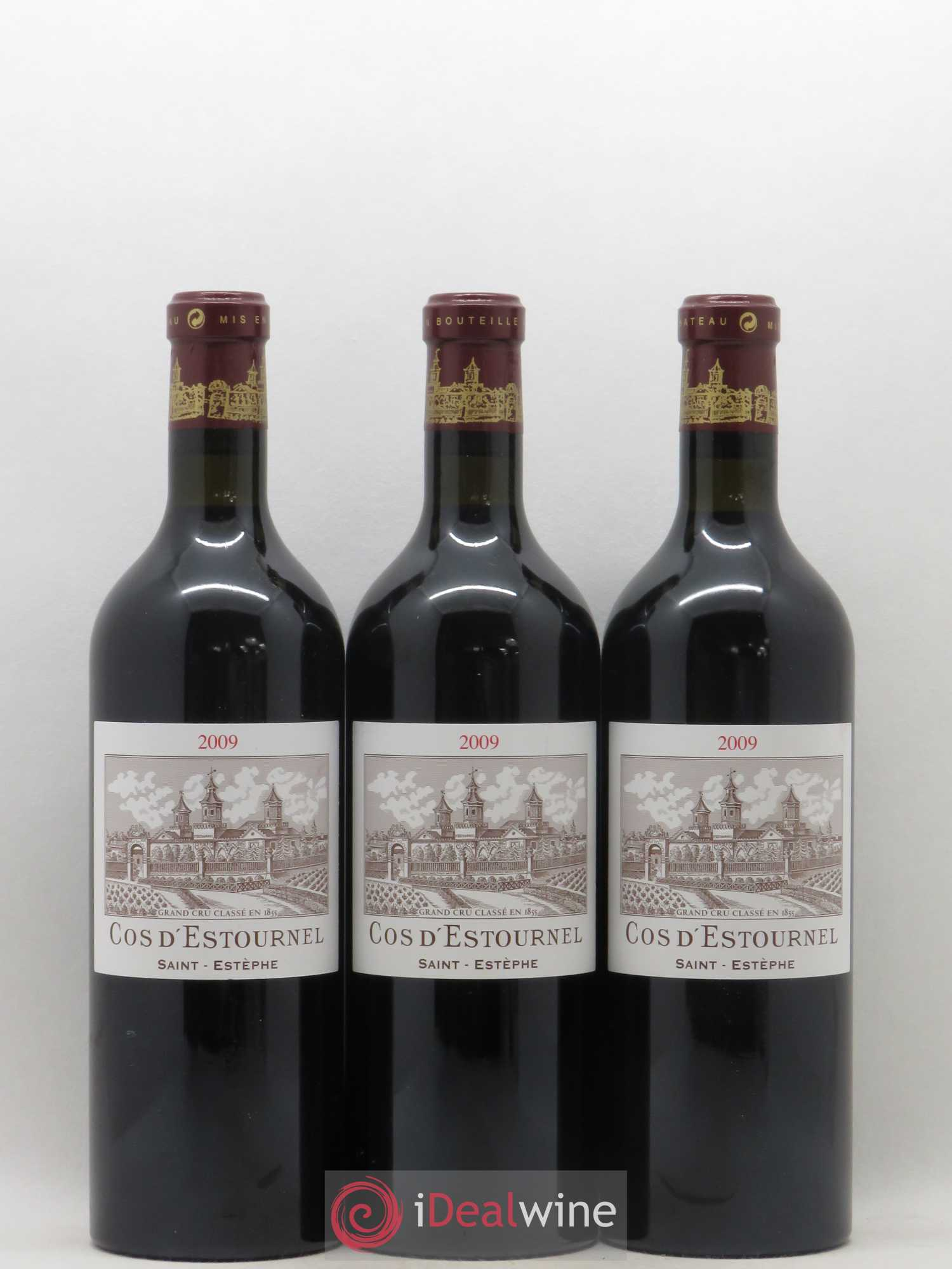 Cos d'Estournel 2ème Grand Cru Classé  2009 - Lot of 3 Bottles