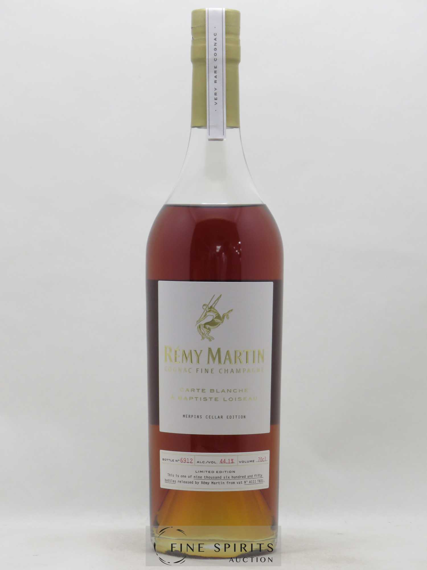 Cognac Rémy Martin Of. Carte Blanche Edition 2 Merpins Cellar Edition Fine Champagne