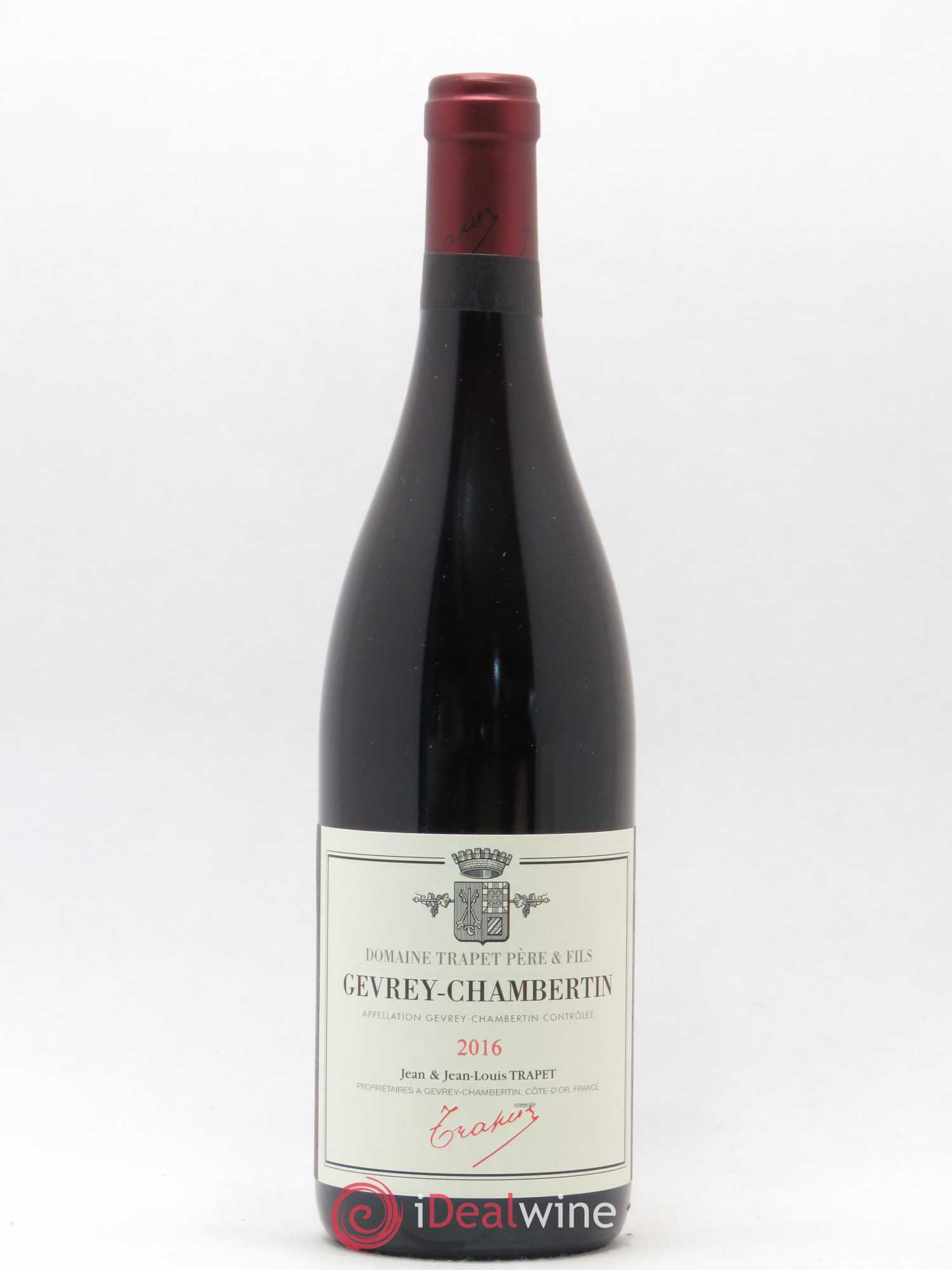 Gevrey-Chambertin Jean et Jean-Louis Trapet  2016 - Lot of 1 Bottle