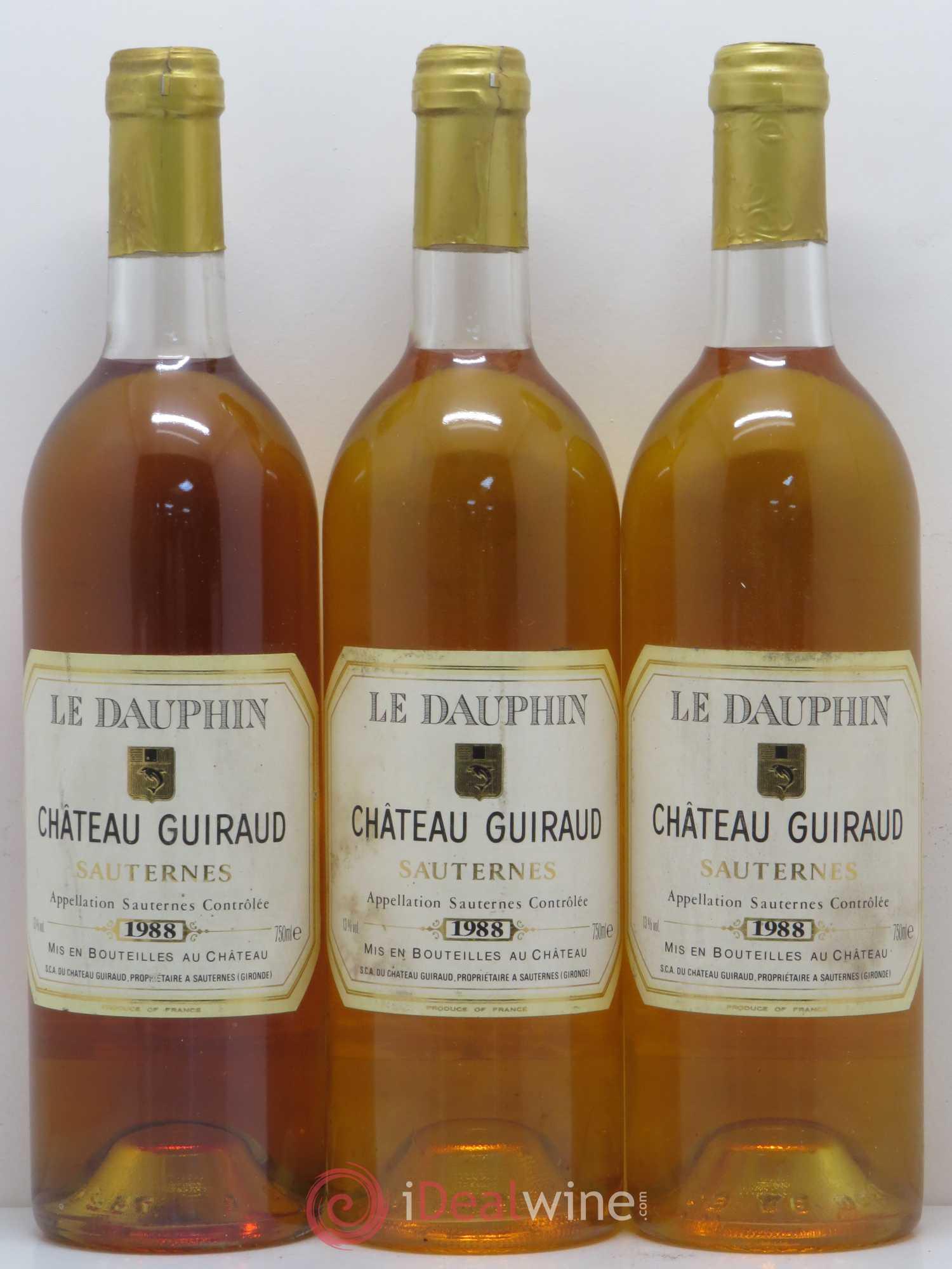 Le Dauphin De Guiraud 1988