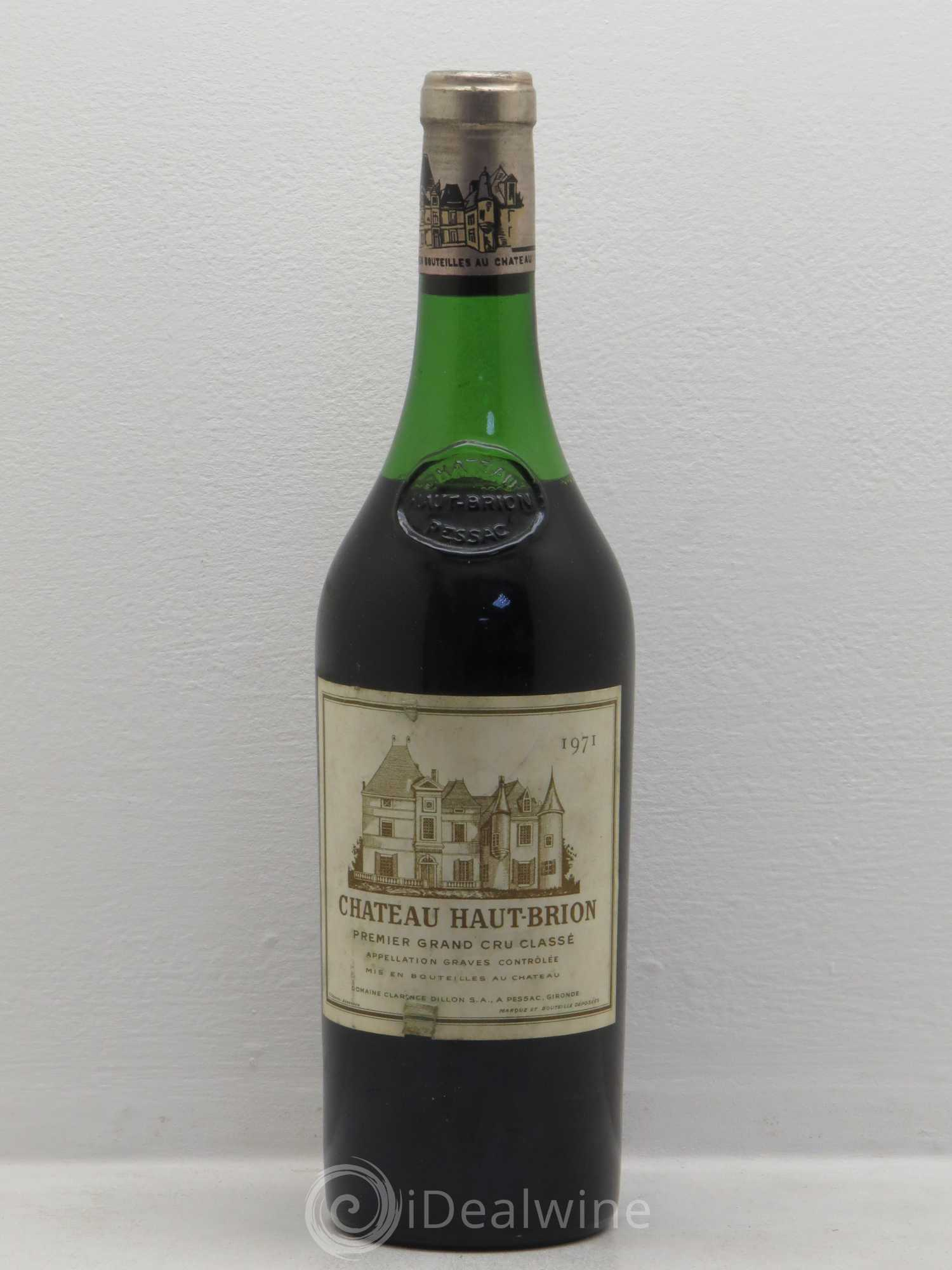 Buy ch teau haut brion 1er grand cru class 1971 lot 95 for Buy chateaubriand