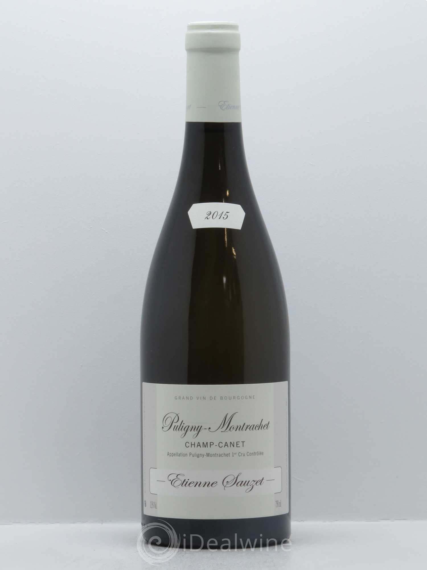 Puligny-Montrachet 1er Cru Champ Canet Etienne Sauzet  2015 - Lot of 1 Bottle