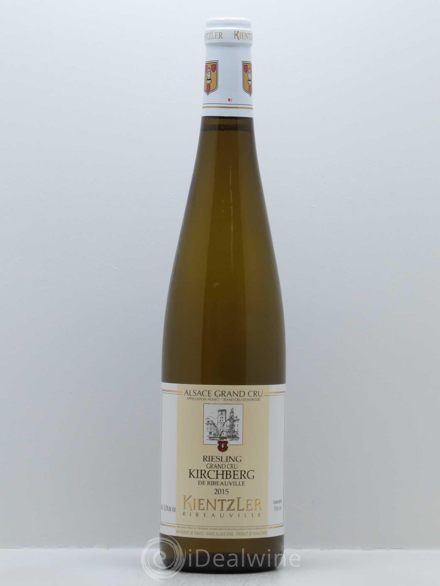 Riesling Grand Cru Kirchberg Kientzler (Domaine)  2015 - Lot of 1 Bottle