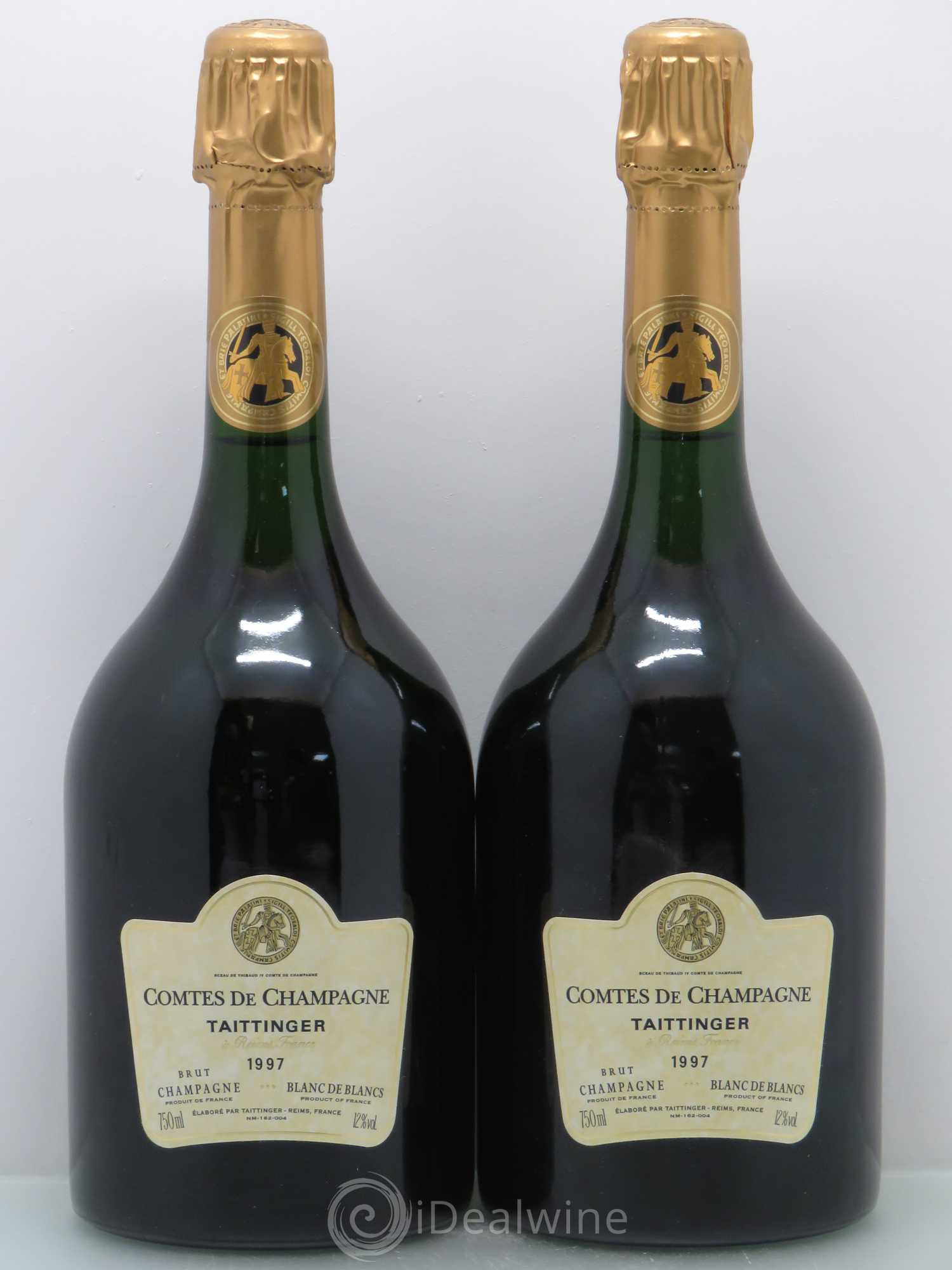 acheter comtes de champagne champagne taittinger 1997 lot 3011. Black Bedroom Furniture Sets. Home Design Ideas