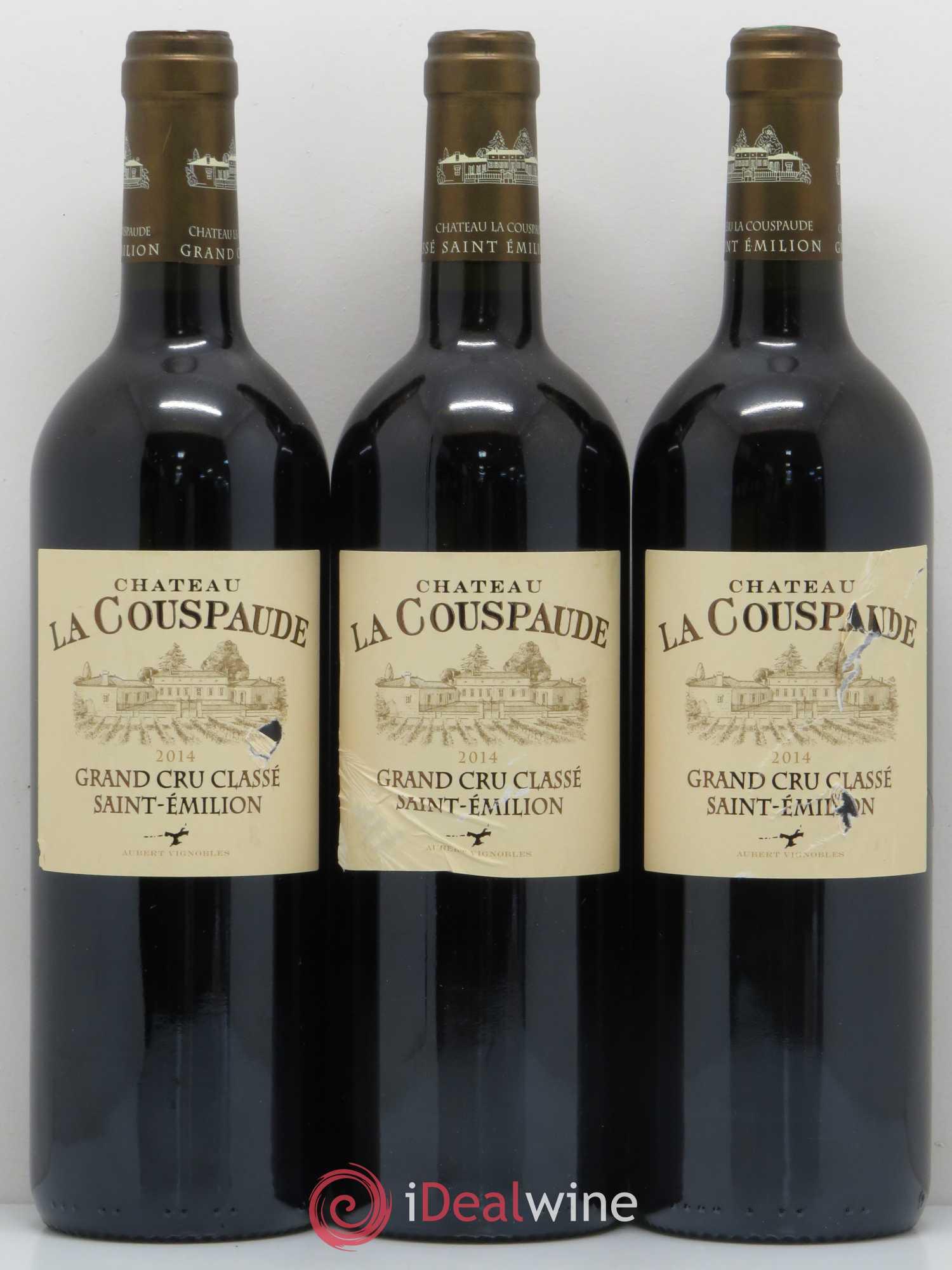 Buy Château la Couspaude Grand Cru Classé 2014 (lot: 11168)