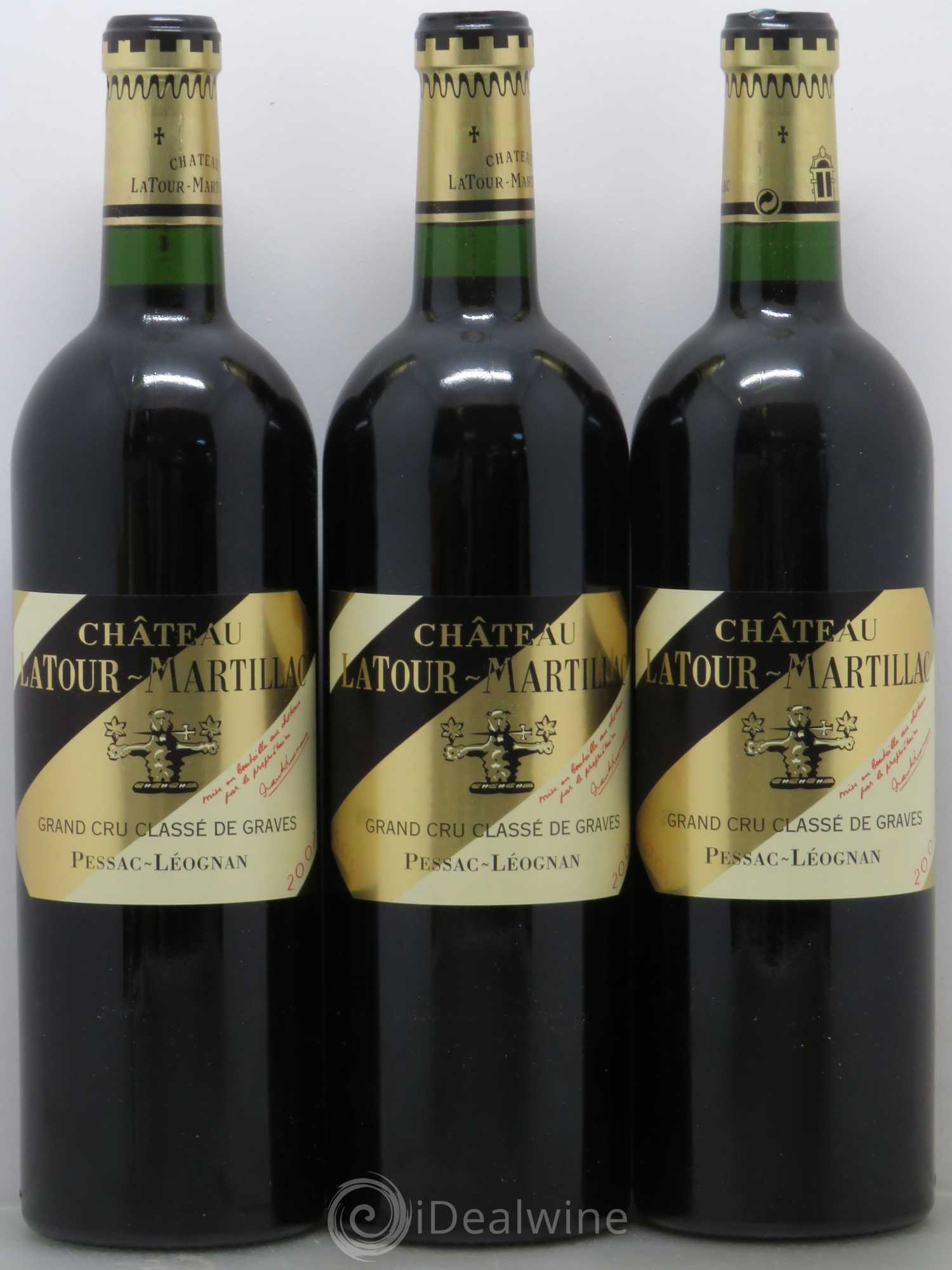 acheter ch teau latour martillac cru class de graves 2007 lot 12565. Black Bedroom Furniture Sets. Home Design Ideas