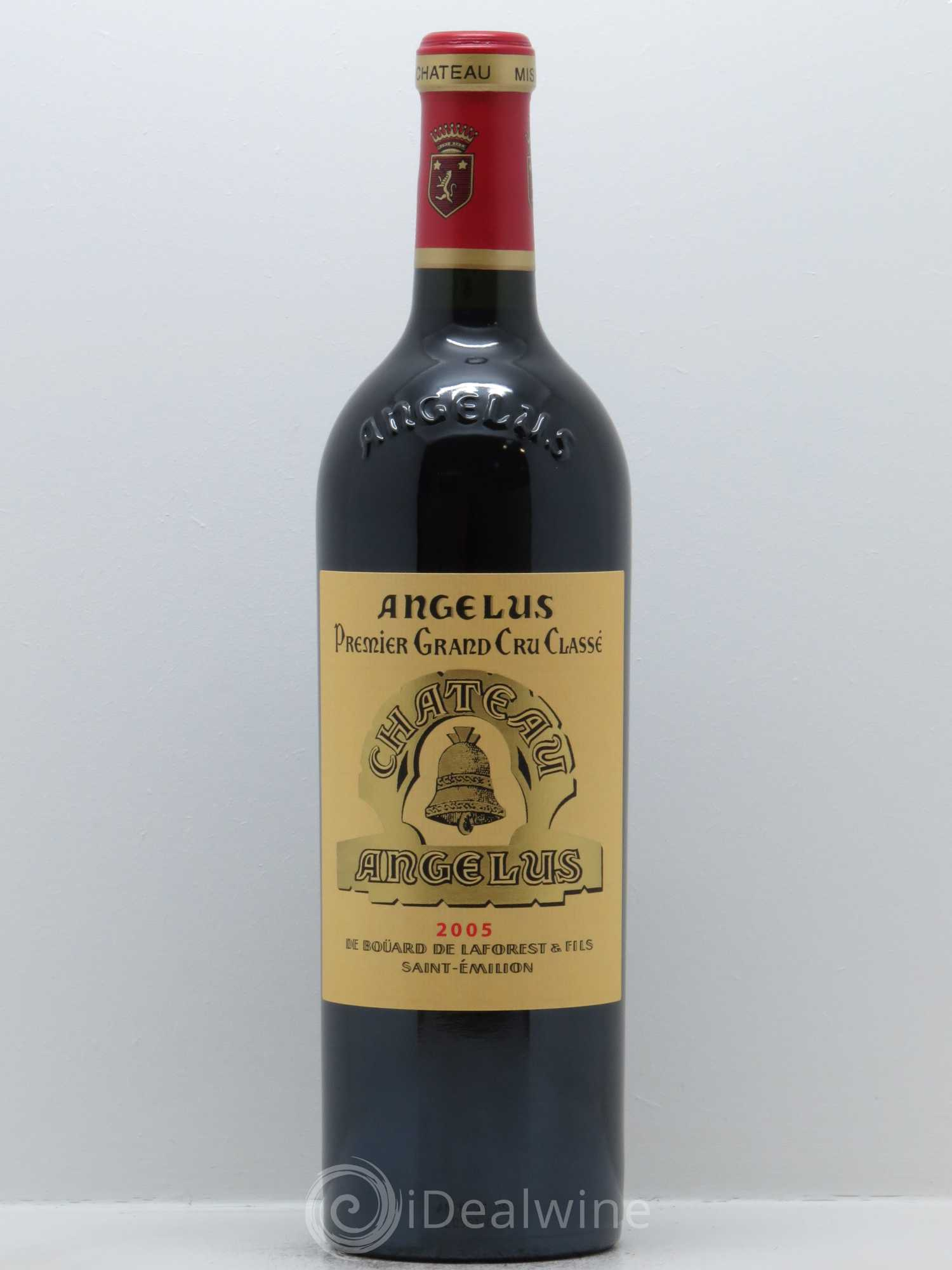 Buy ch teau ang lus 1er grand cru class a 2005 lot 351 for Chateau angelus