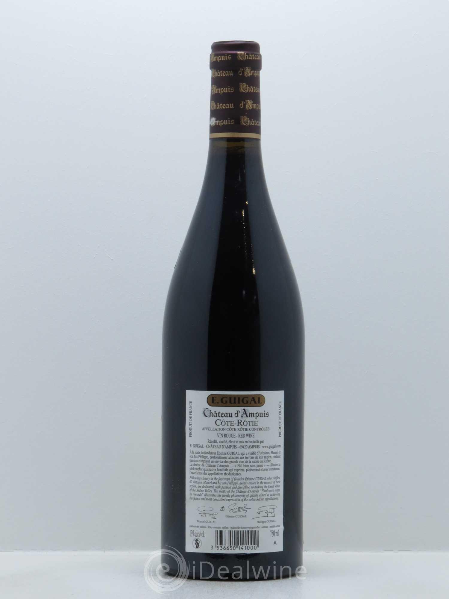 Acheter c te r tie ch teau d 39 ampuis guigal 2007 lot 19 - Salon des vins ampuis ...