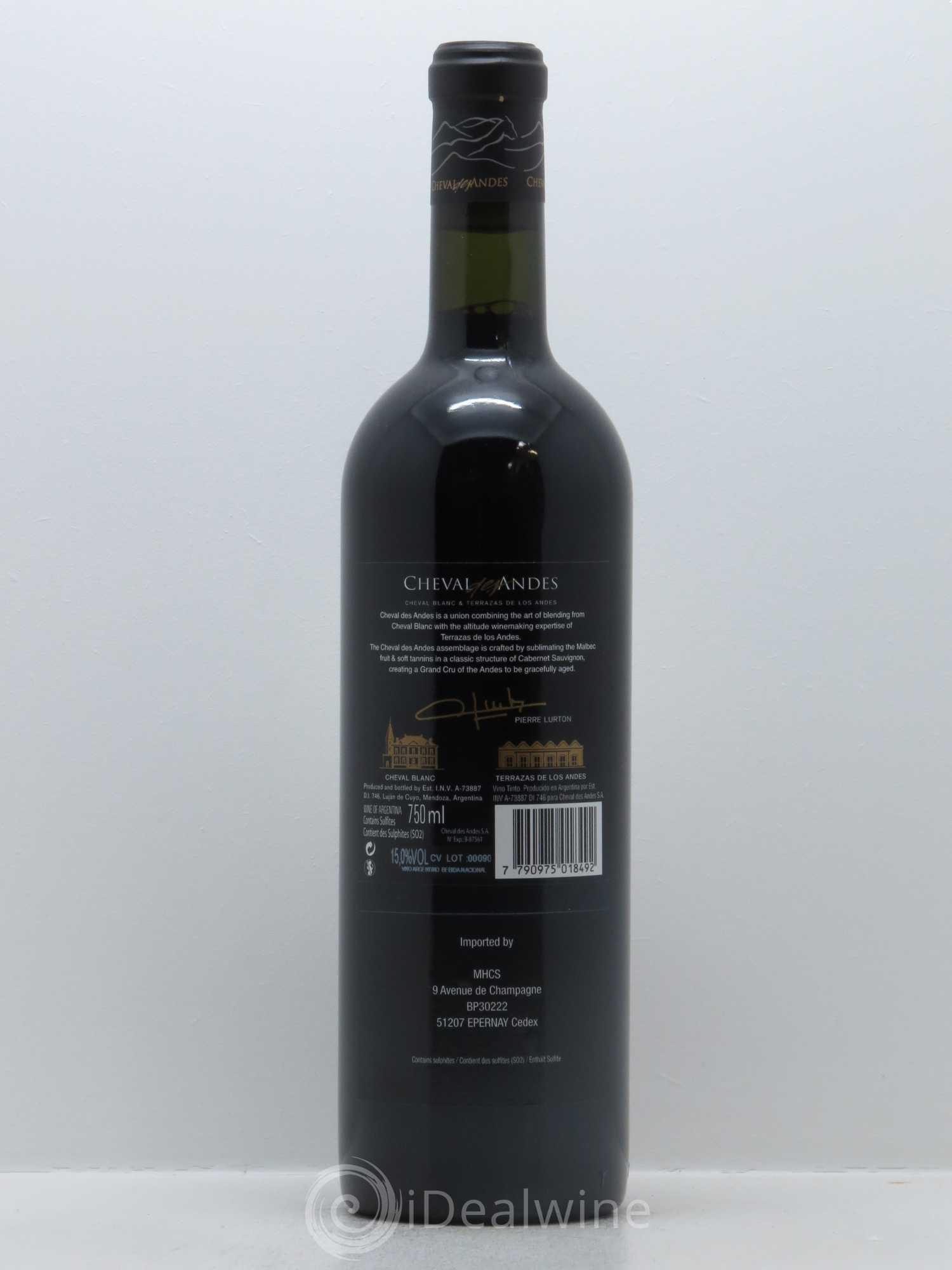 Mendoza Cheval Des Andes Lvmh 2012