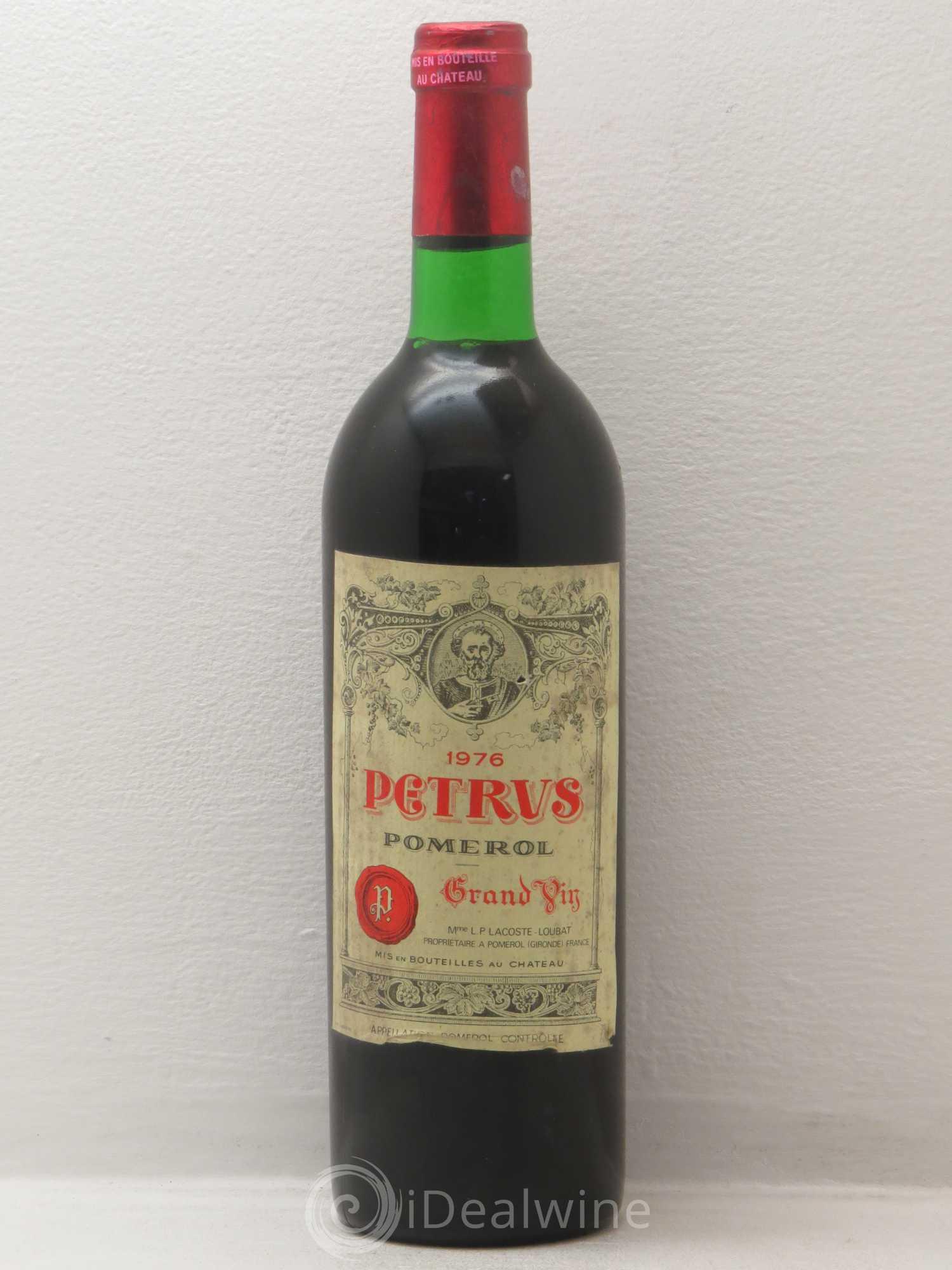 Buy Petrus 1976 Lot 5603