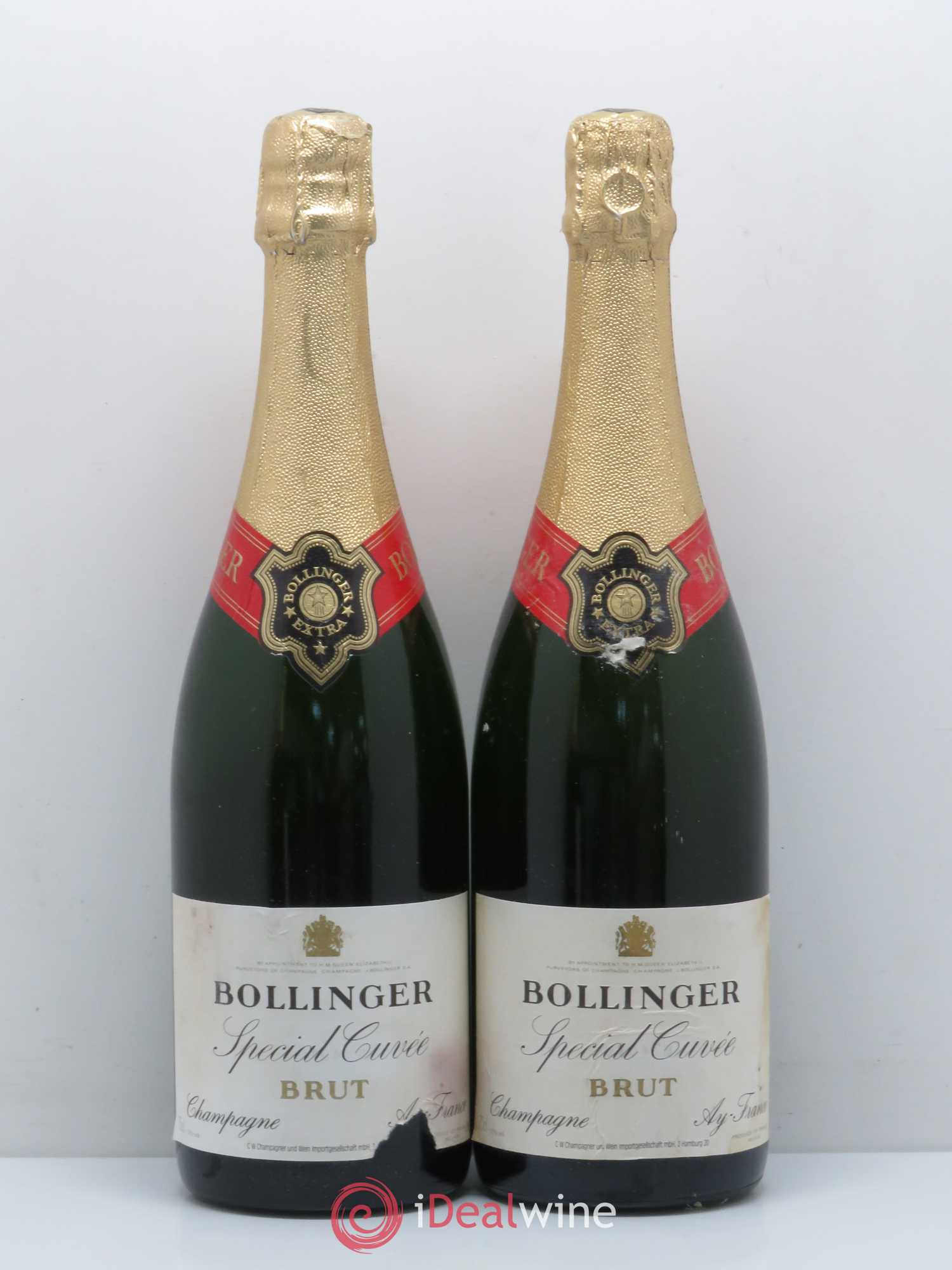 Special Cuvée Bollinger Lot Of 2 Bottles