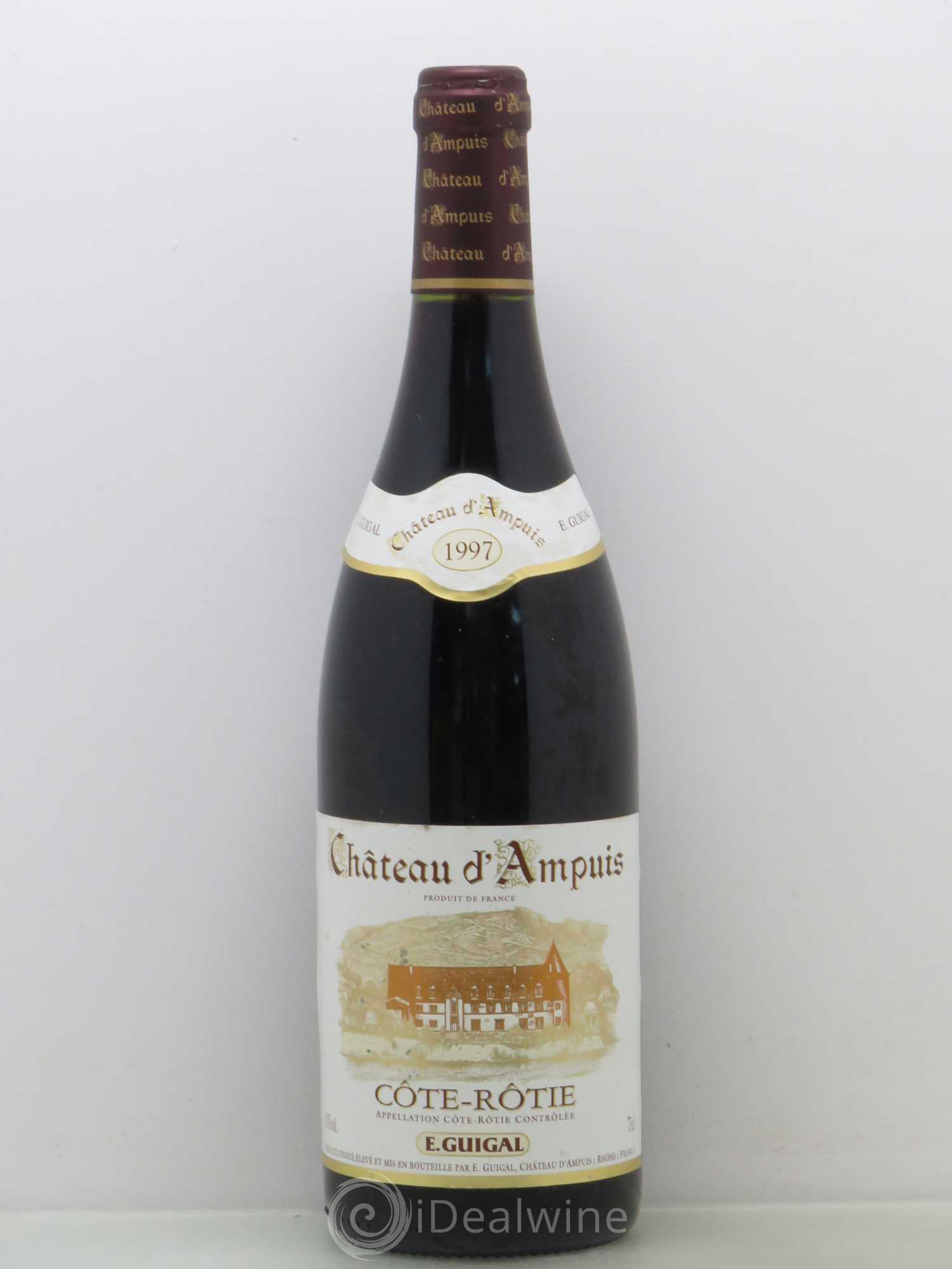 Acheter c te r tie ch teau d 39 ampuis guigal 1997 lot 8064 - Salon des vins ampuis ...