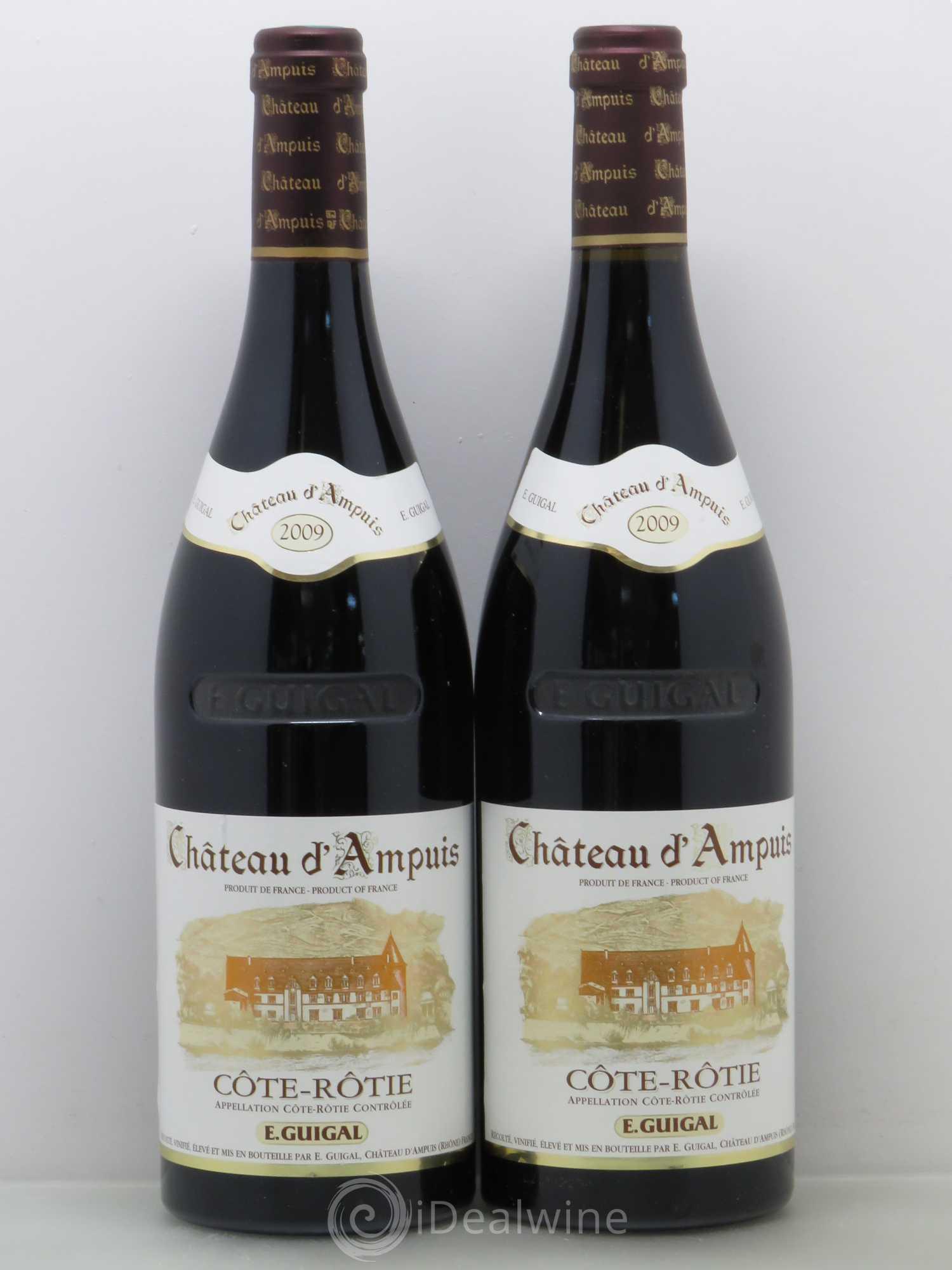 Acheter c te r tie ch teau d 39 ampuis guigal 2009 lot 9029 - Salon des vins ampuis ...